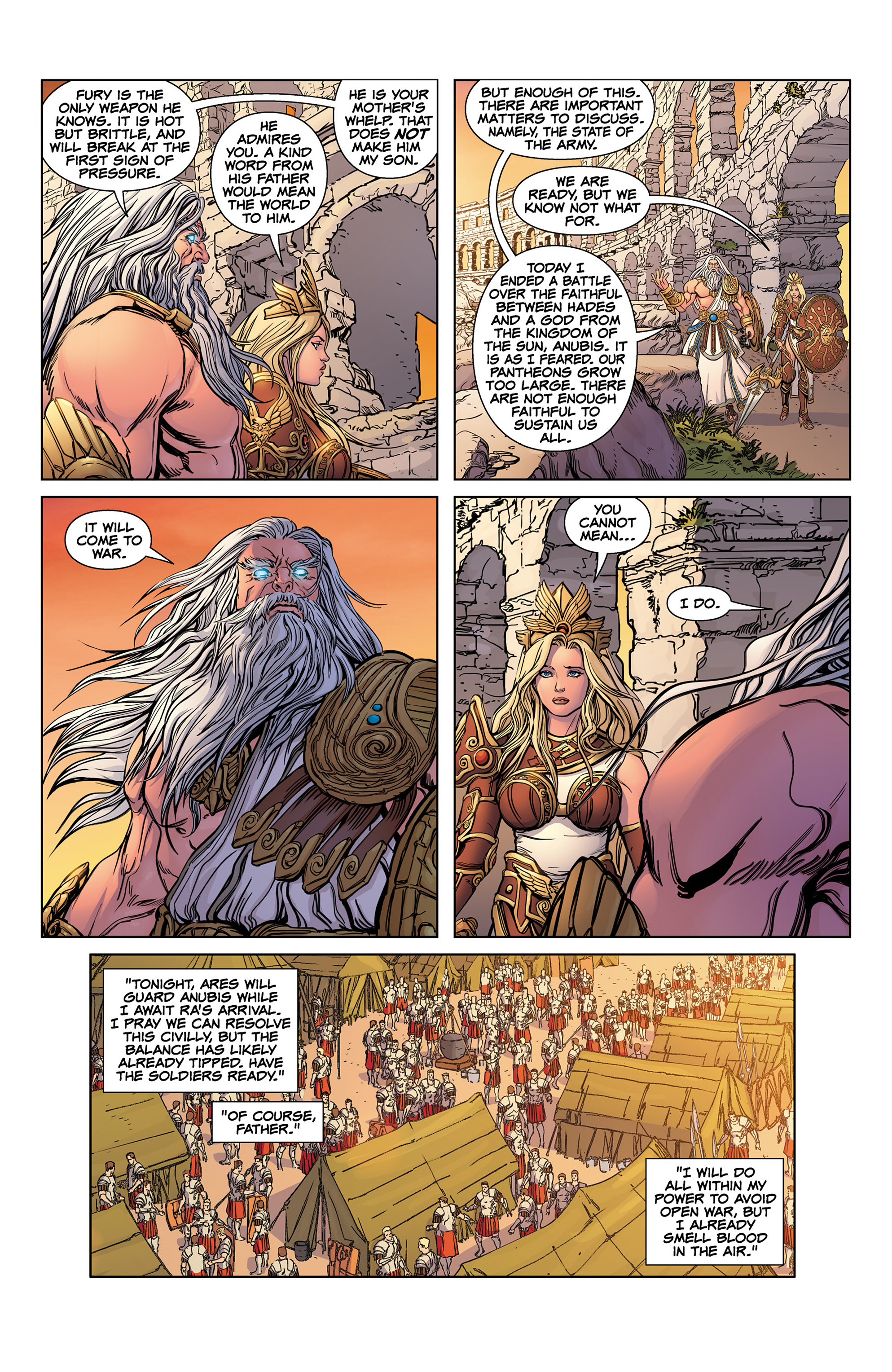 Read online SMITE: The Pantheon War comic -  Issue #1 - 13