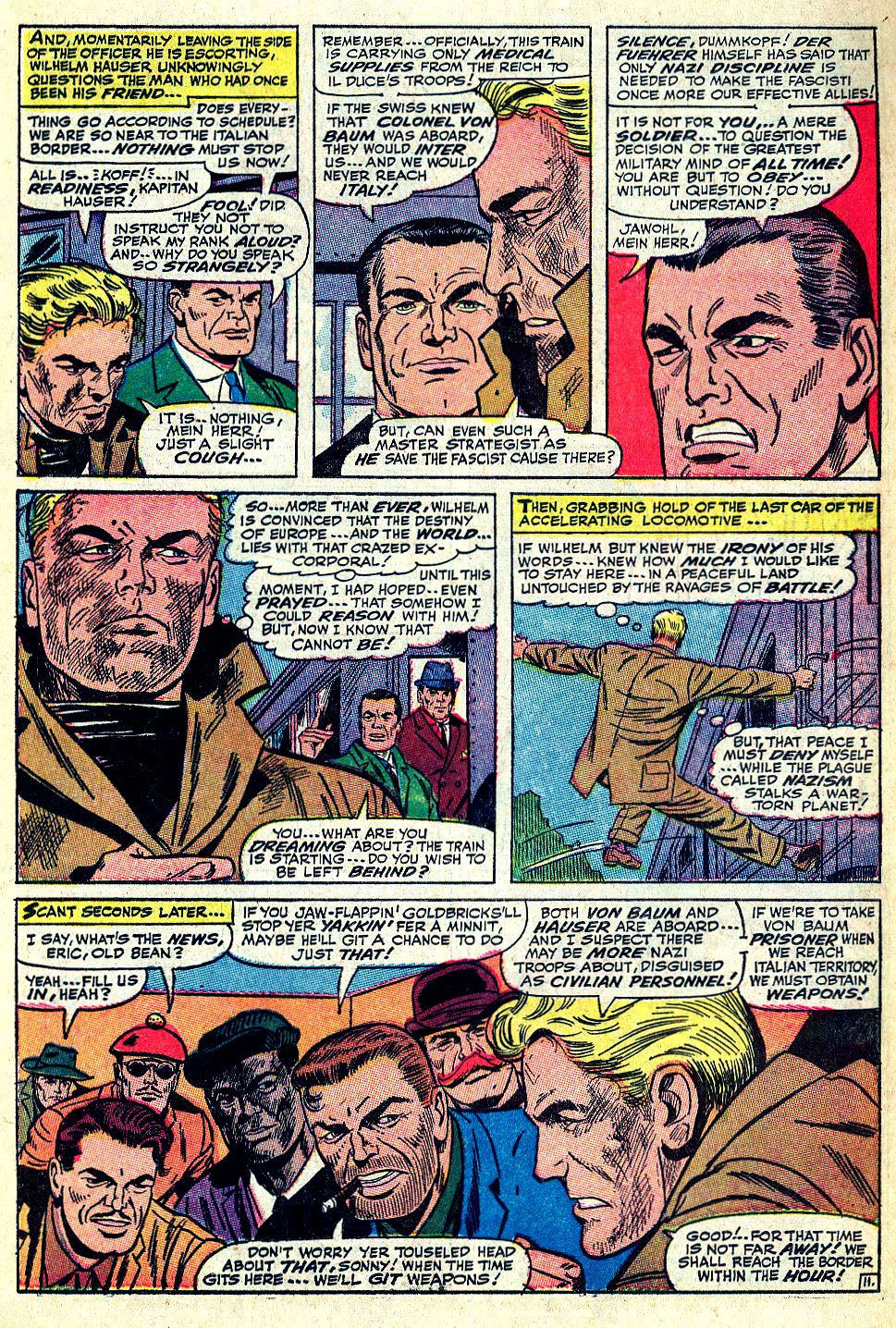 Read online Sgt. Fury comic -  Issue #36 - 15