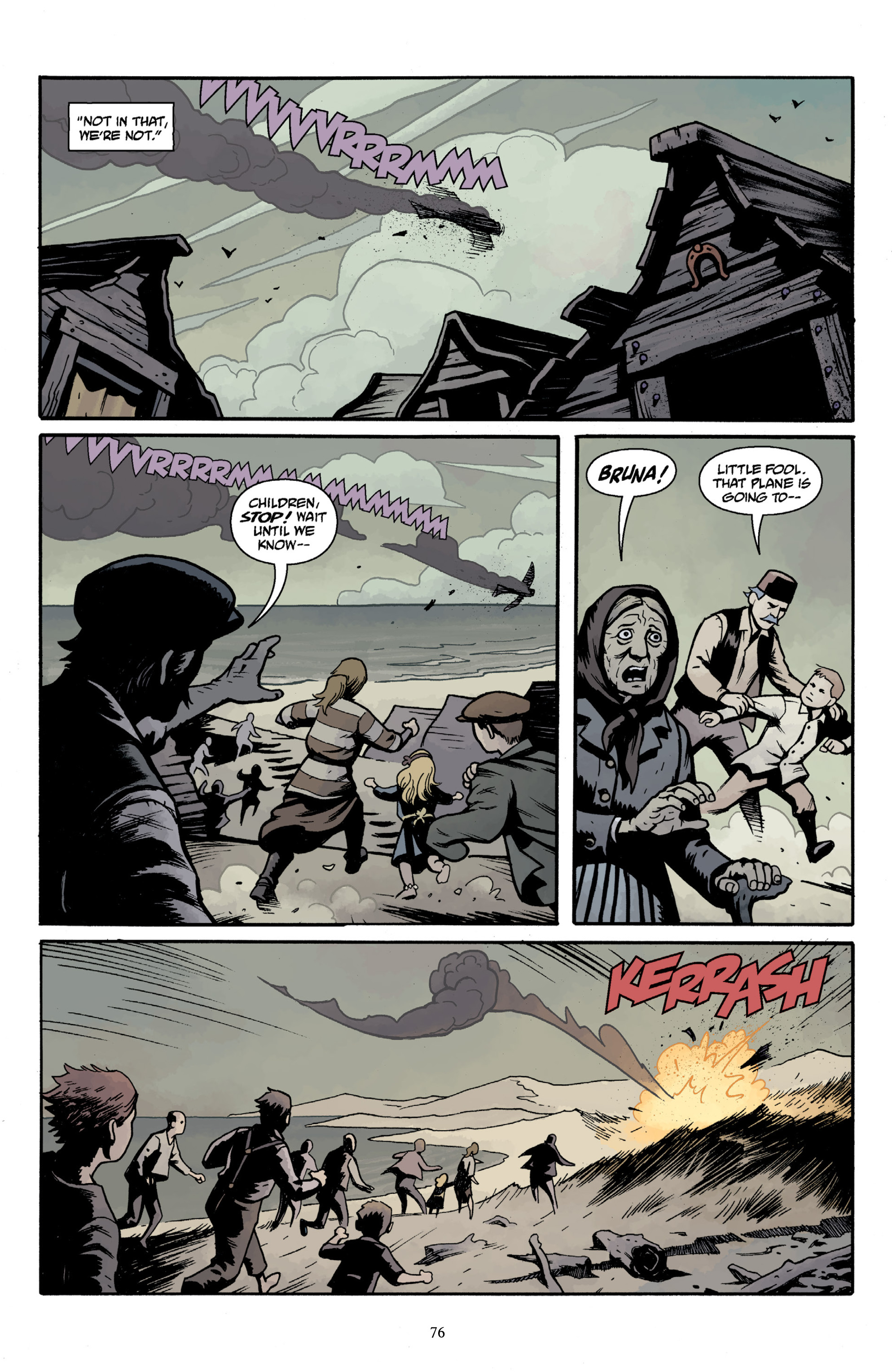 Read online Baltimore Volume 3: A Passing Stranger and Other Stories comic -  Issue # Full - 78