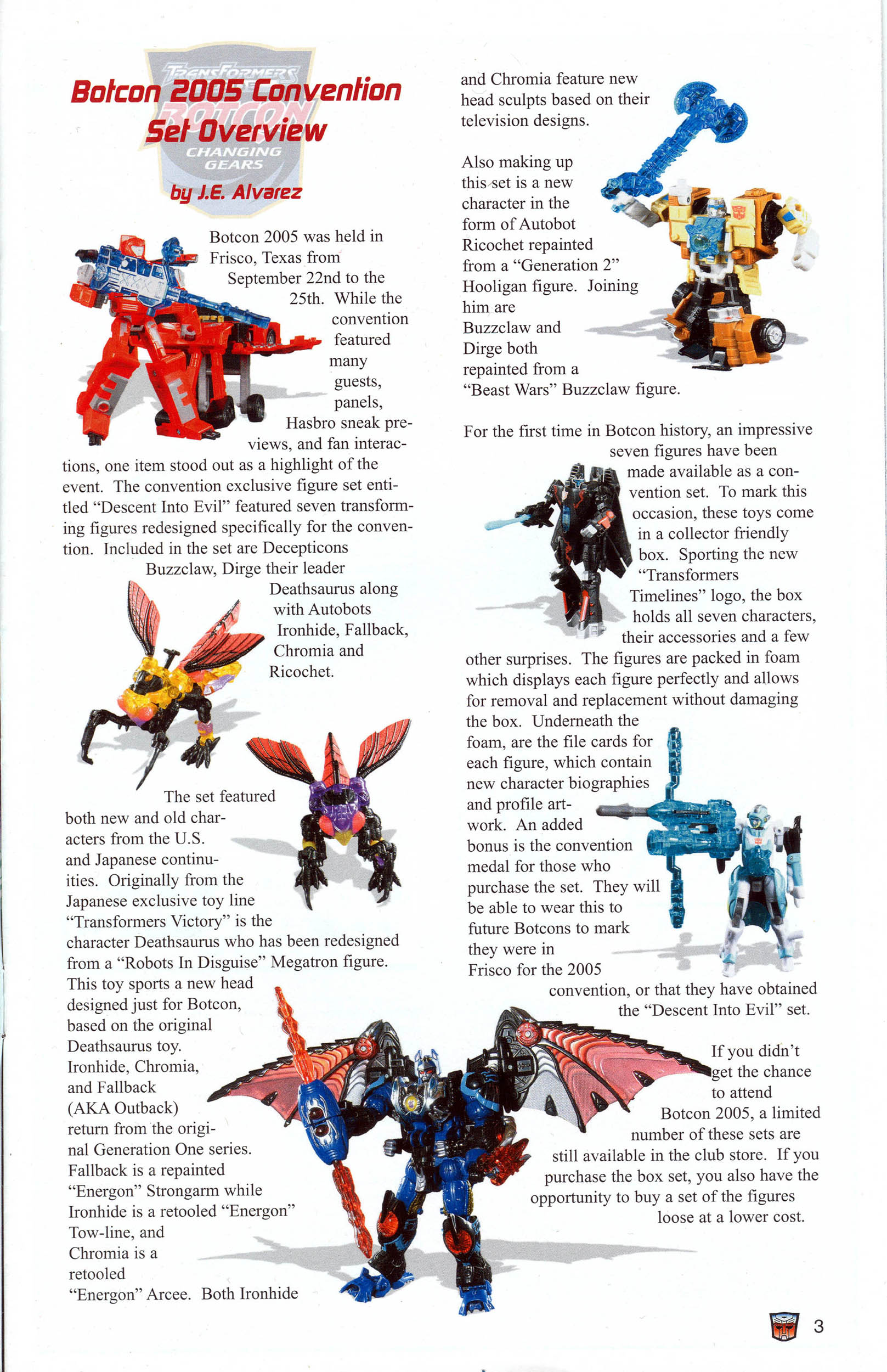 Read online Transformers: Collectors' Club comic -  Issue #7 - 3