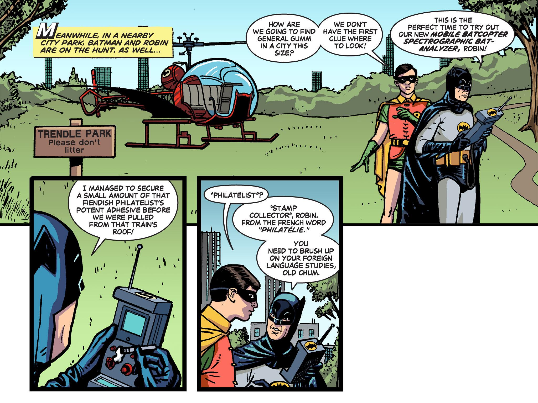 Read online Batman '66 Meets the Green Hornet [II] comic -  Issue #4 - 66