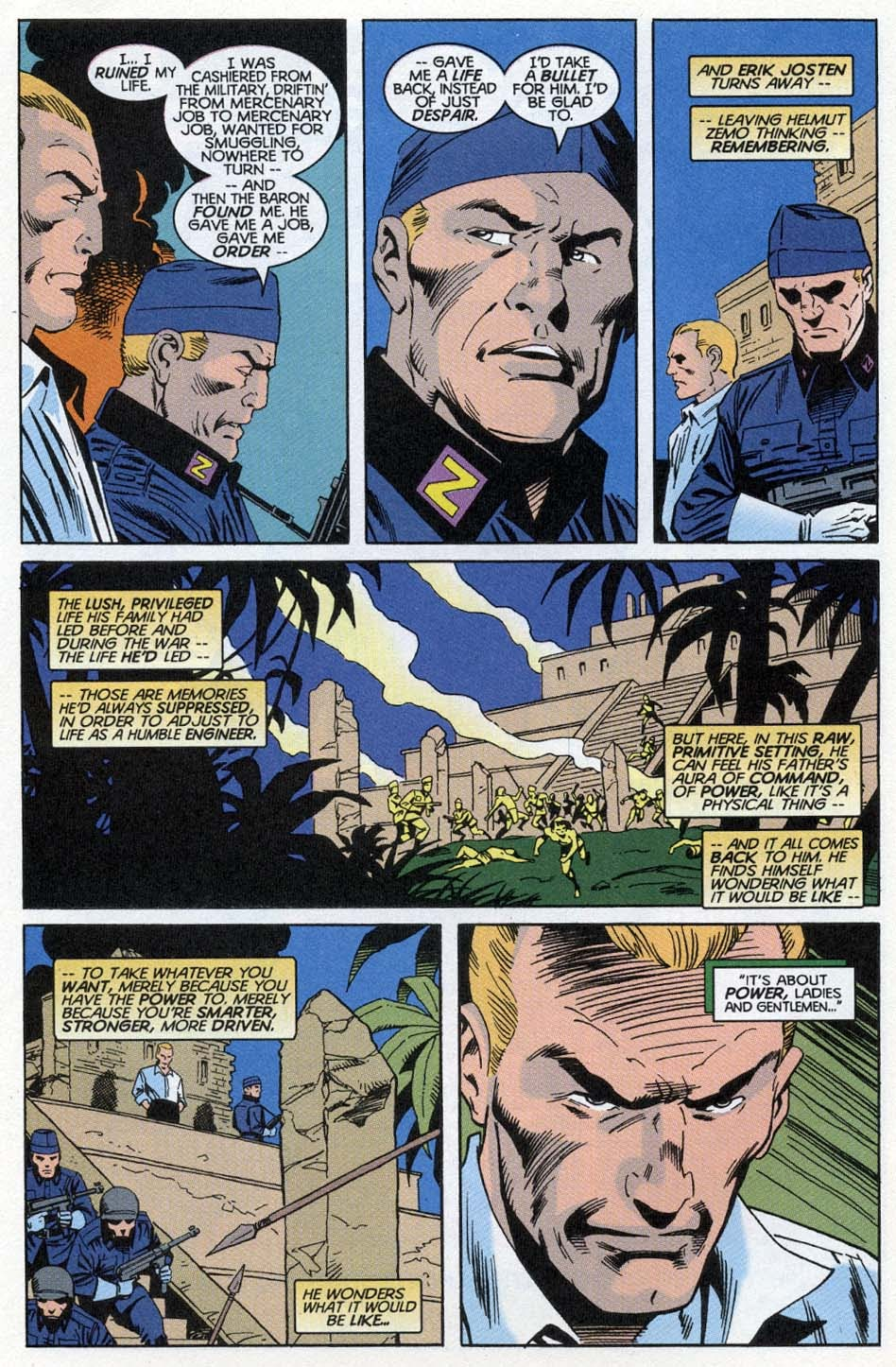 Thunderbolts: Distant Rumblings issue Full - Page 7