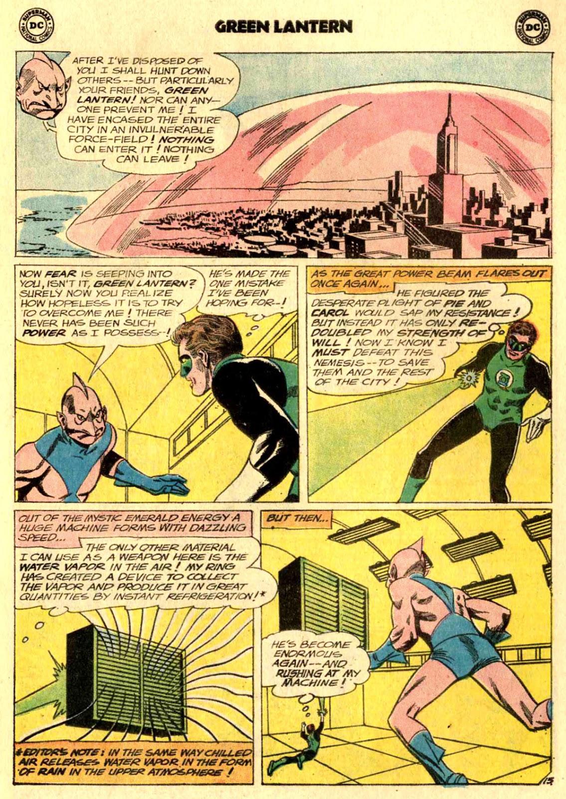Green Lantern (1960) Issue #24 #27 - English 17