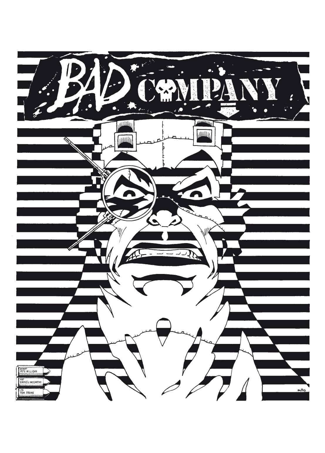 Read online The Complete Bad Company comic -  Issue # TPB - 116