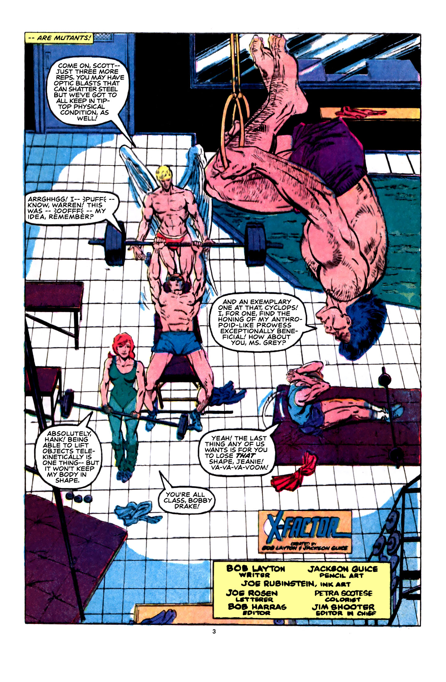 Read online X-Factor (1986) comic -  Issue #5 - 4