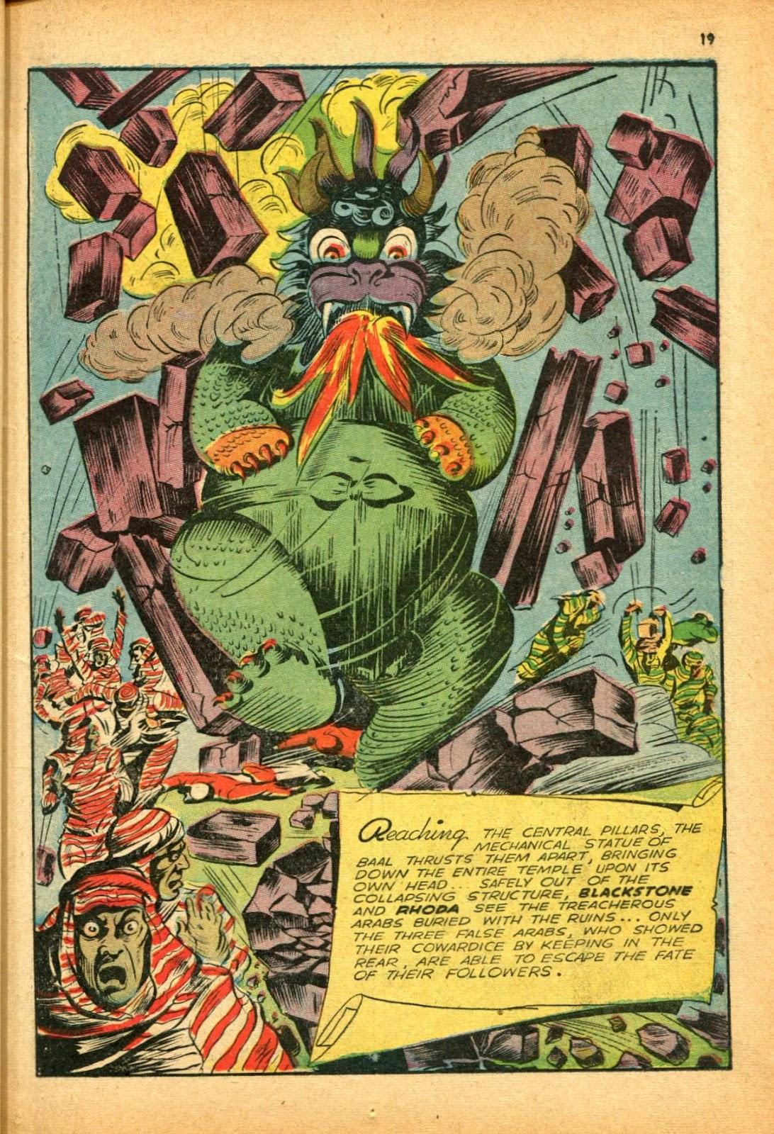 Read online Super-Magician Comics comic -  Issue #12 - 19