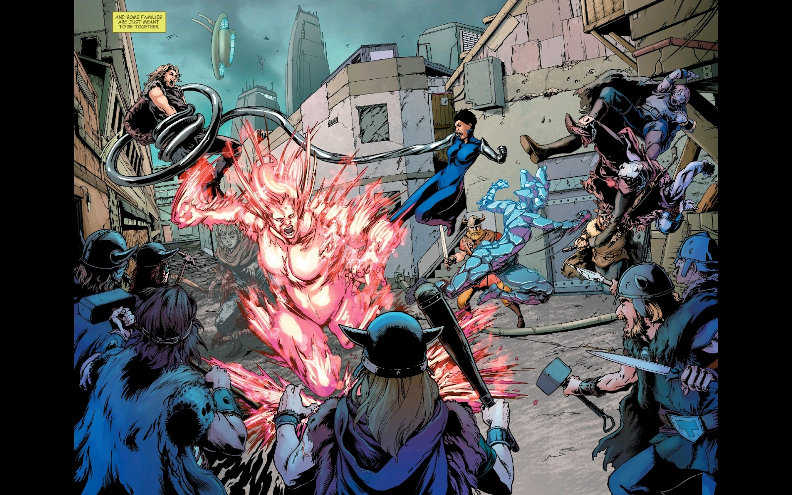Read online Fantastic Four 2099 (2019) comic -  Issue # Full - 4