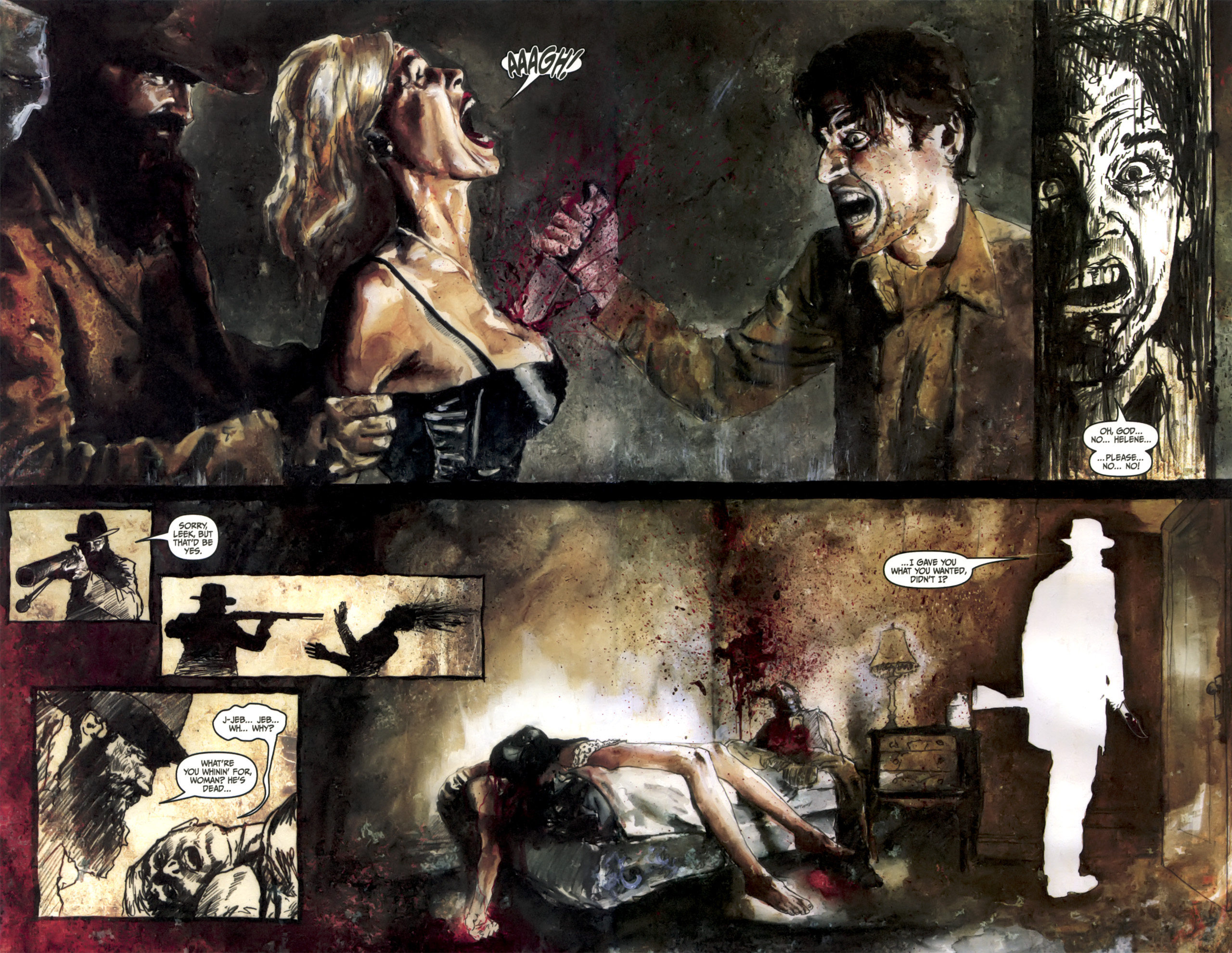 Read online Silent Hill: Past Life comic -  Issue #3 - 8