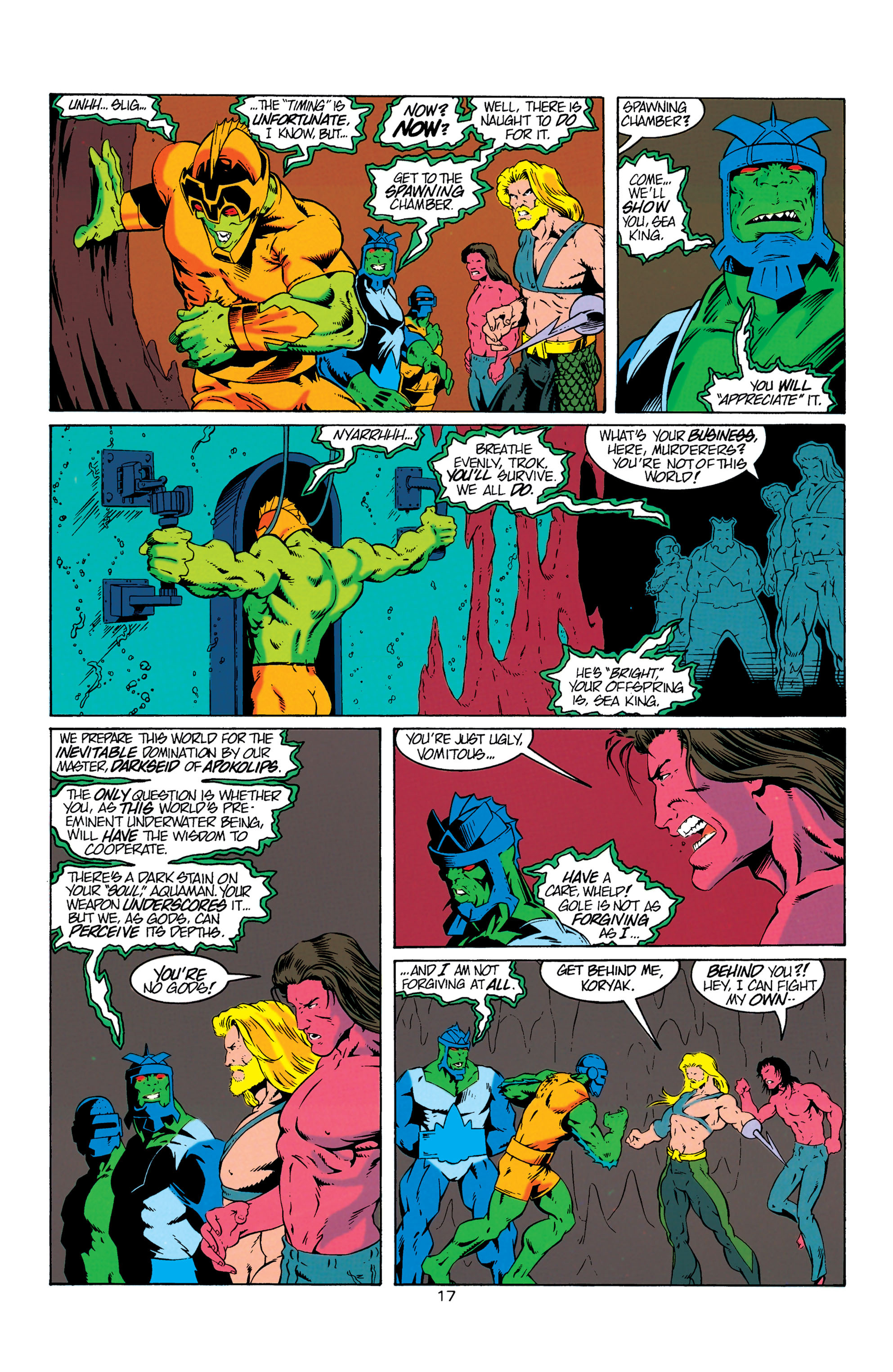 Read online Aquaman (1994) comic -  Issue #6 - 18