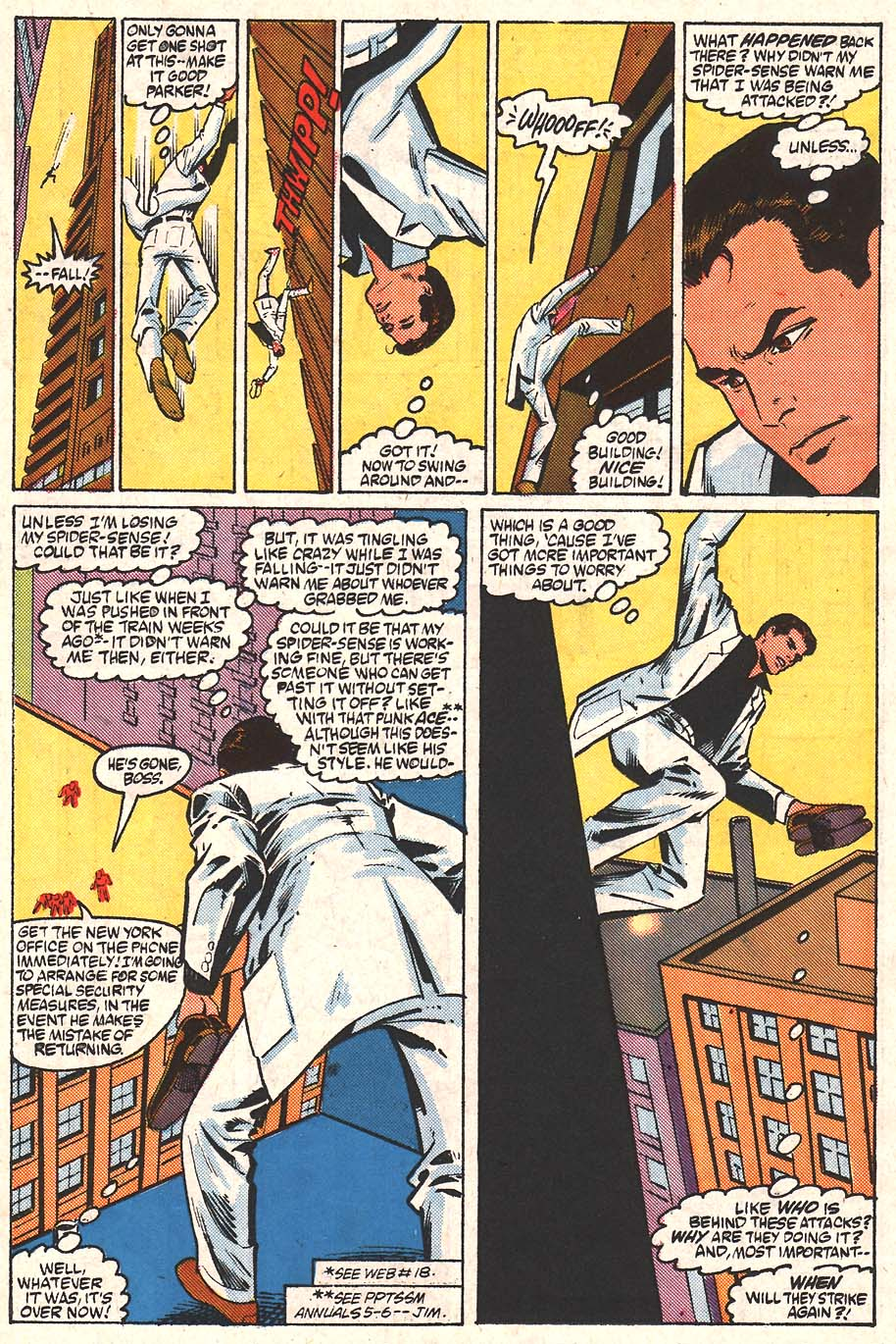 Web of Spider-Man (1985) Issue #24 #34 - English 10