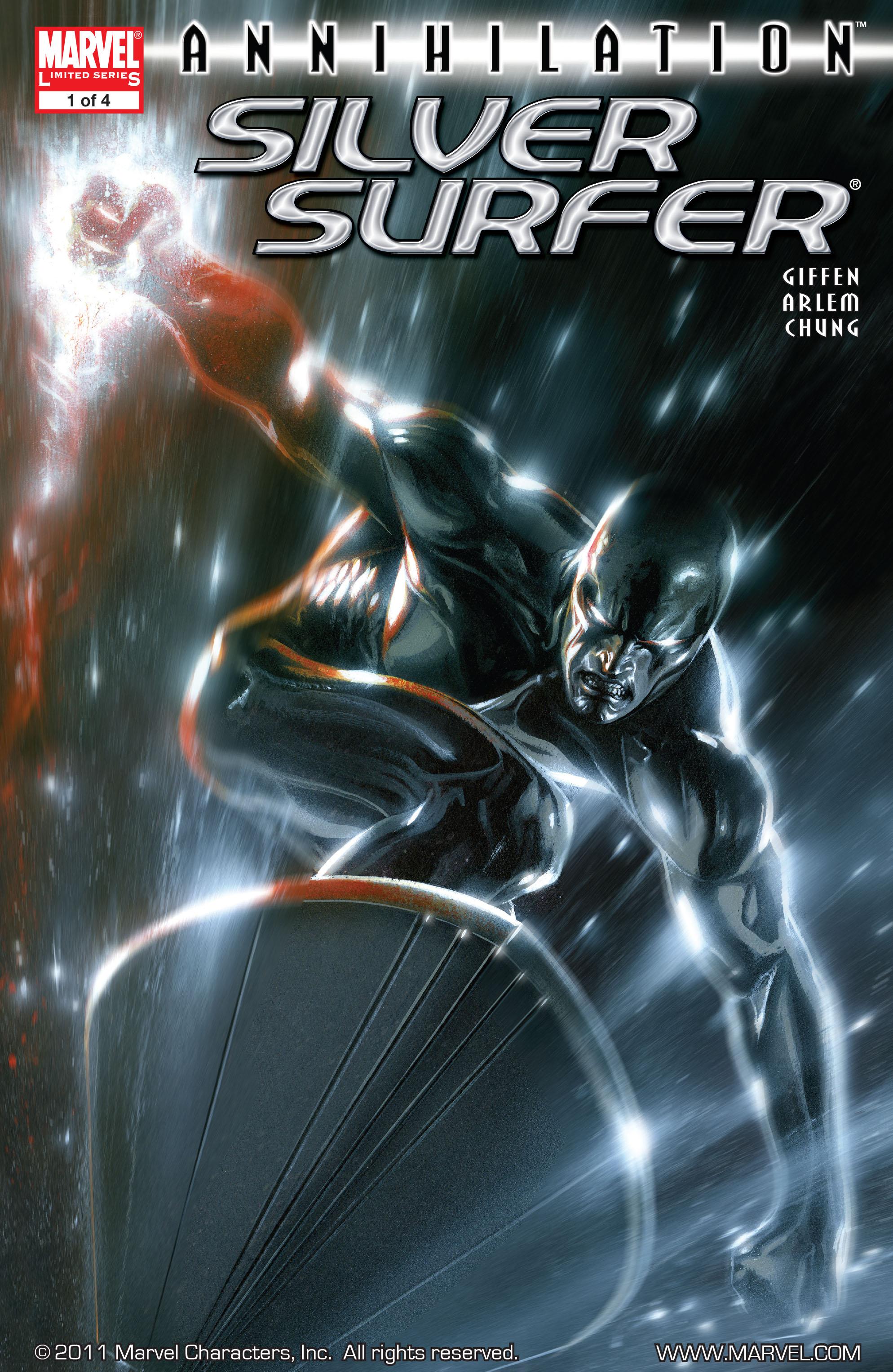 Read online Annihilation: Silver Surfer comic -  Issue #1 - 1