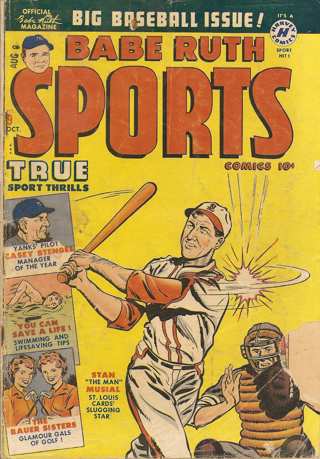 Babe Ruth Sports Comics issue 9 - Page 1