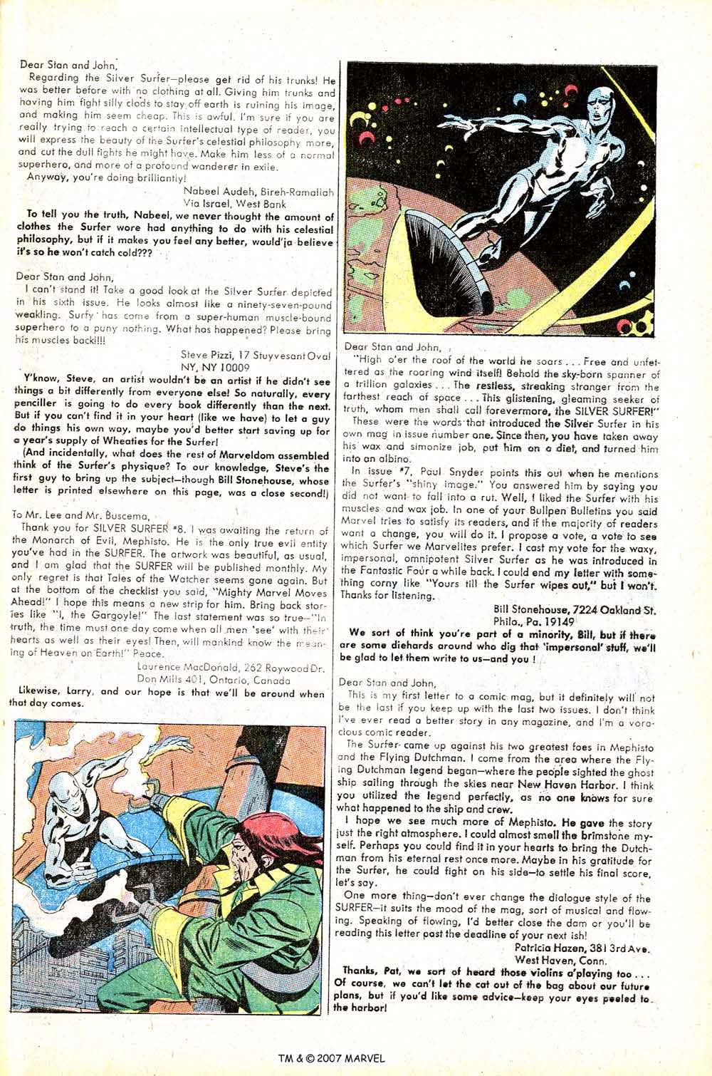 Read online Silver Surfer (1968) comic -  Issue #13 - 33