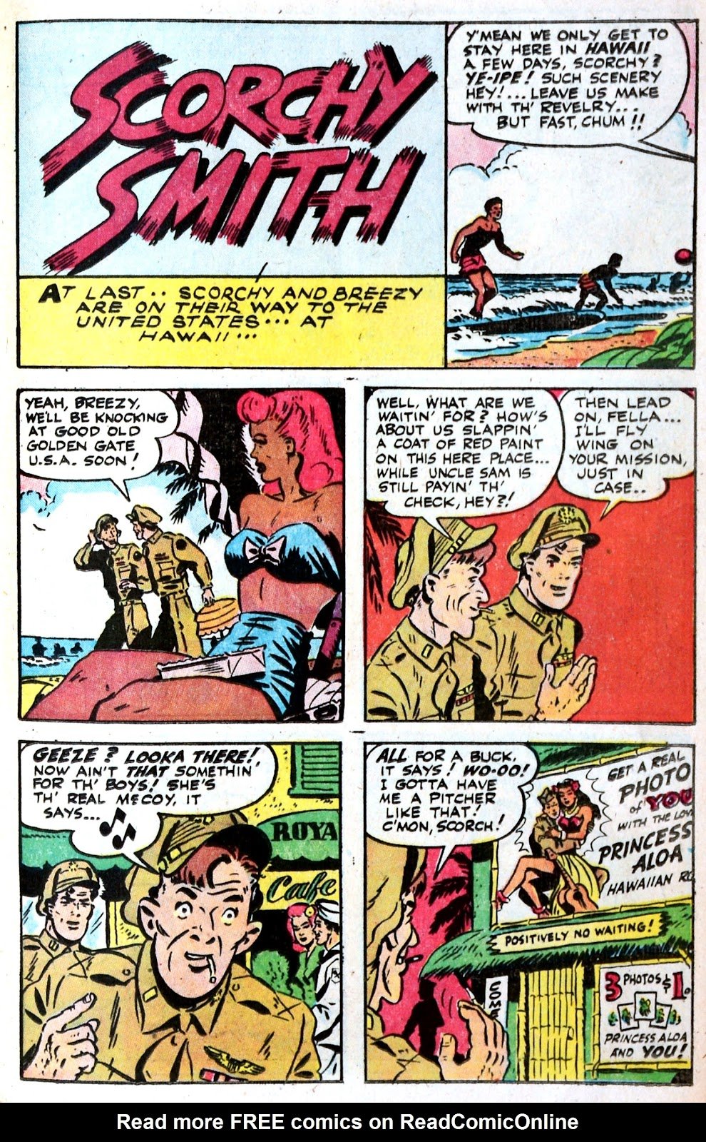 Read online Famous Funnies comic -  Issue #149 - 37