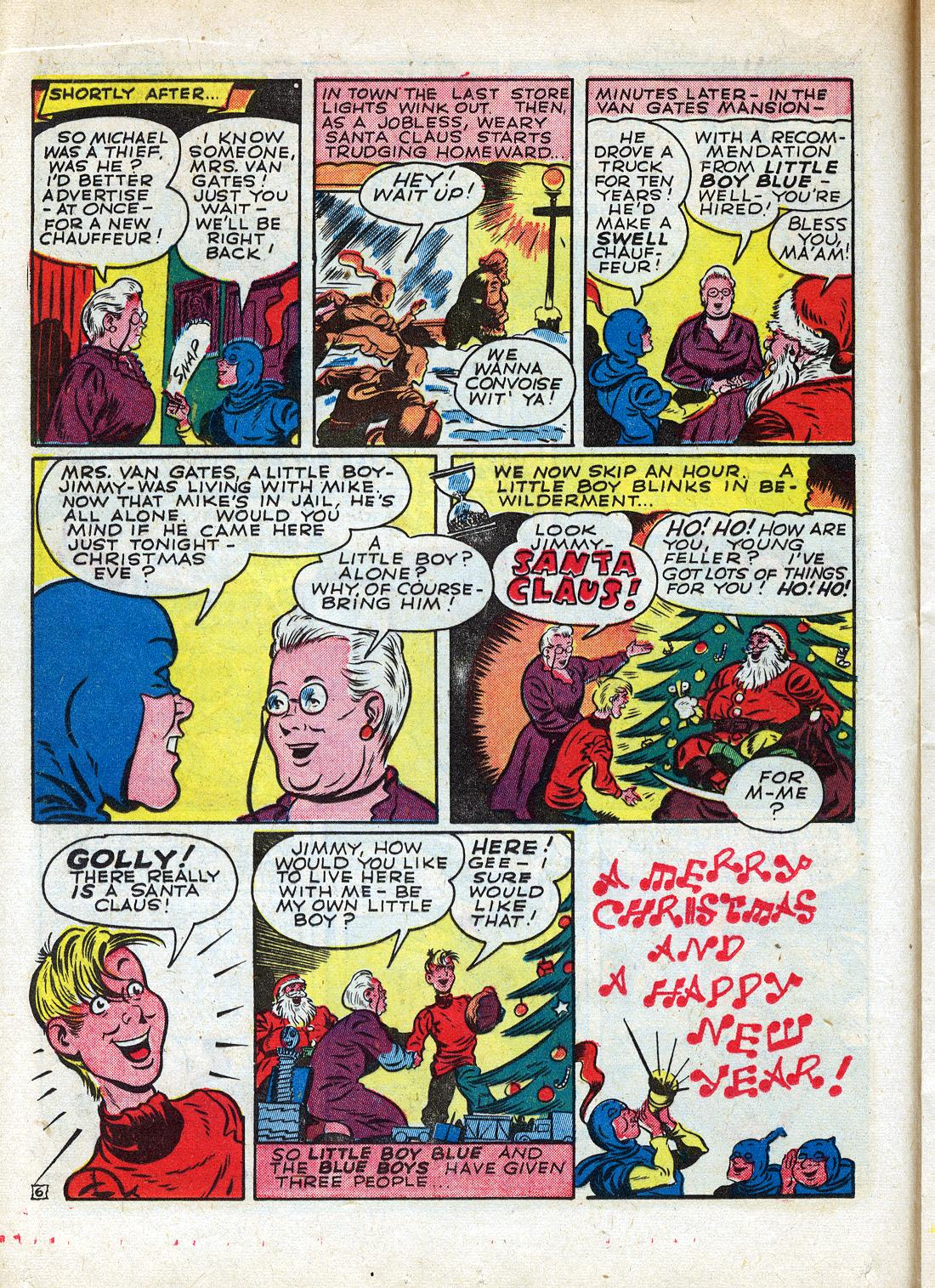 Read online Sensation (Mystery) Comics comic -  Issue #26 - 30