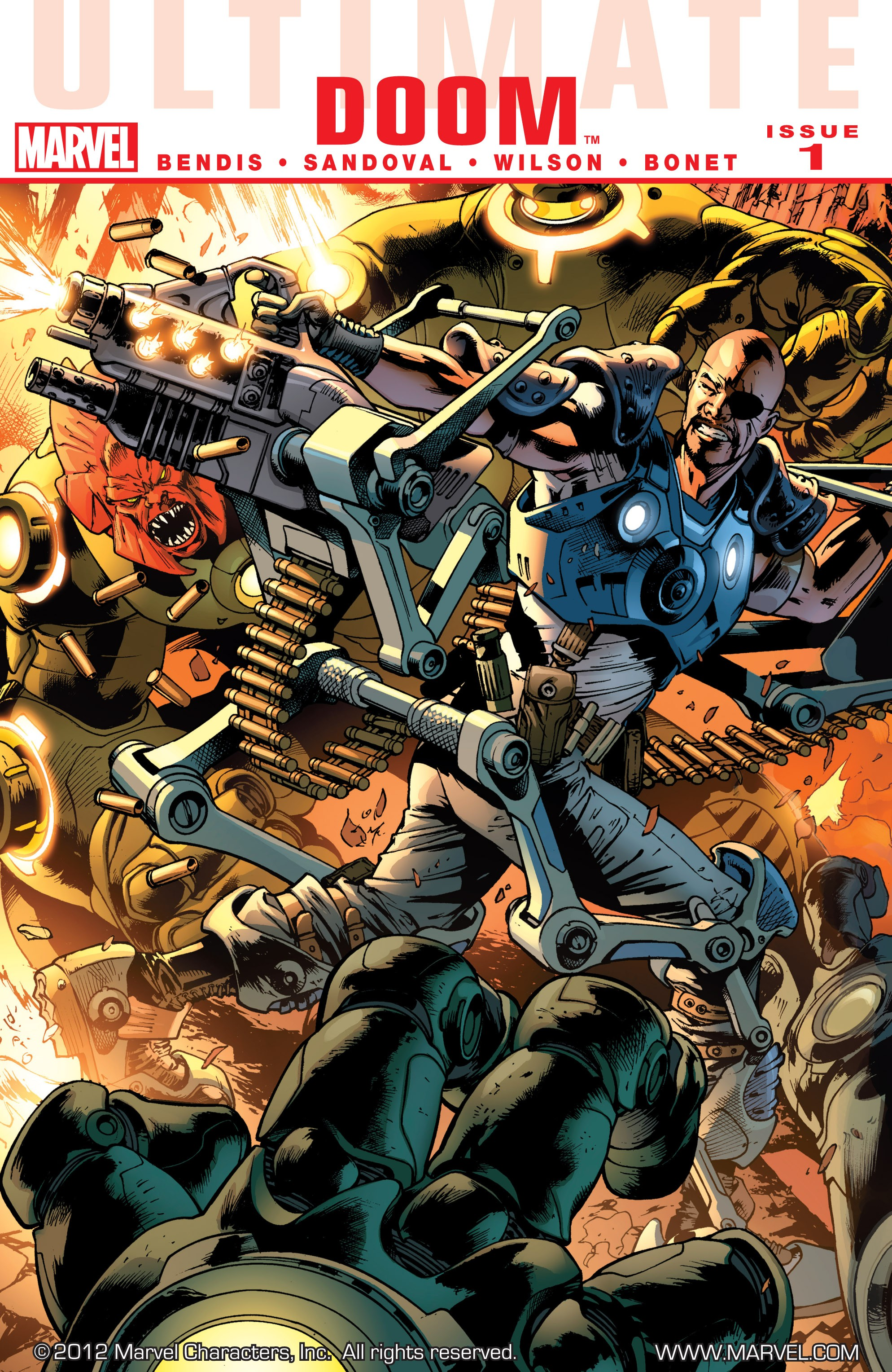 Read online Ultimate Comics Doomsday comic -  Issue # Full - 166