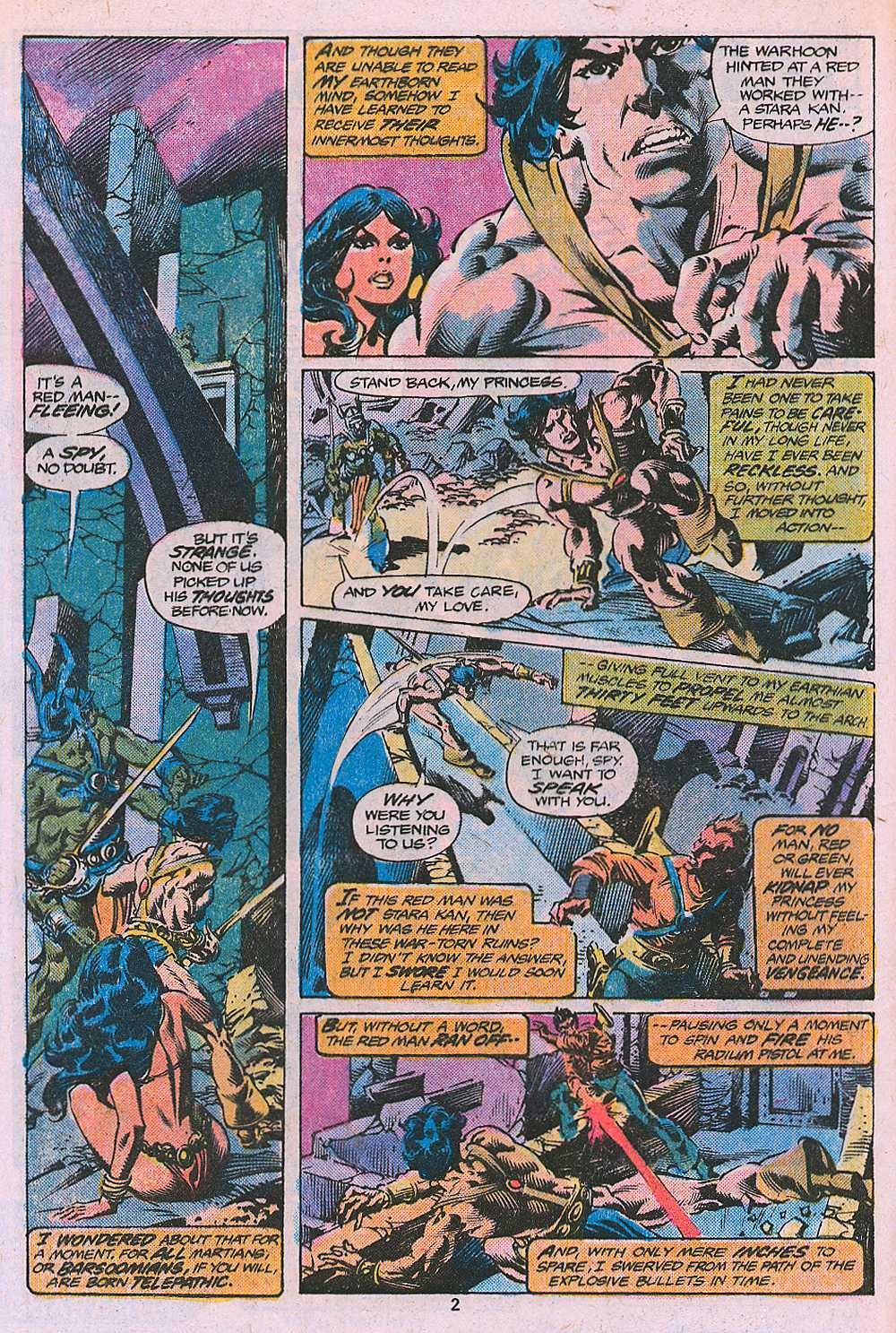 John Carter Warlord of Mars issue 2 - Page 4