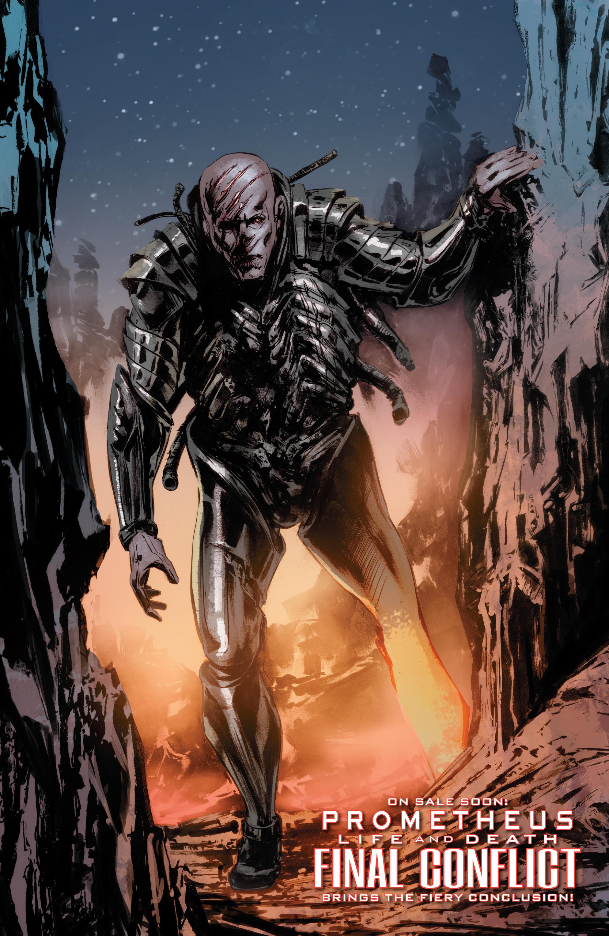 Read online Alien Vs. Predator: Life and Death comic -  Issue #4 - 23