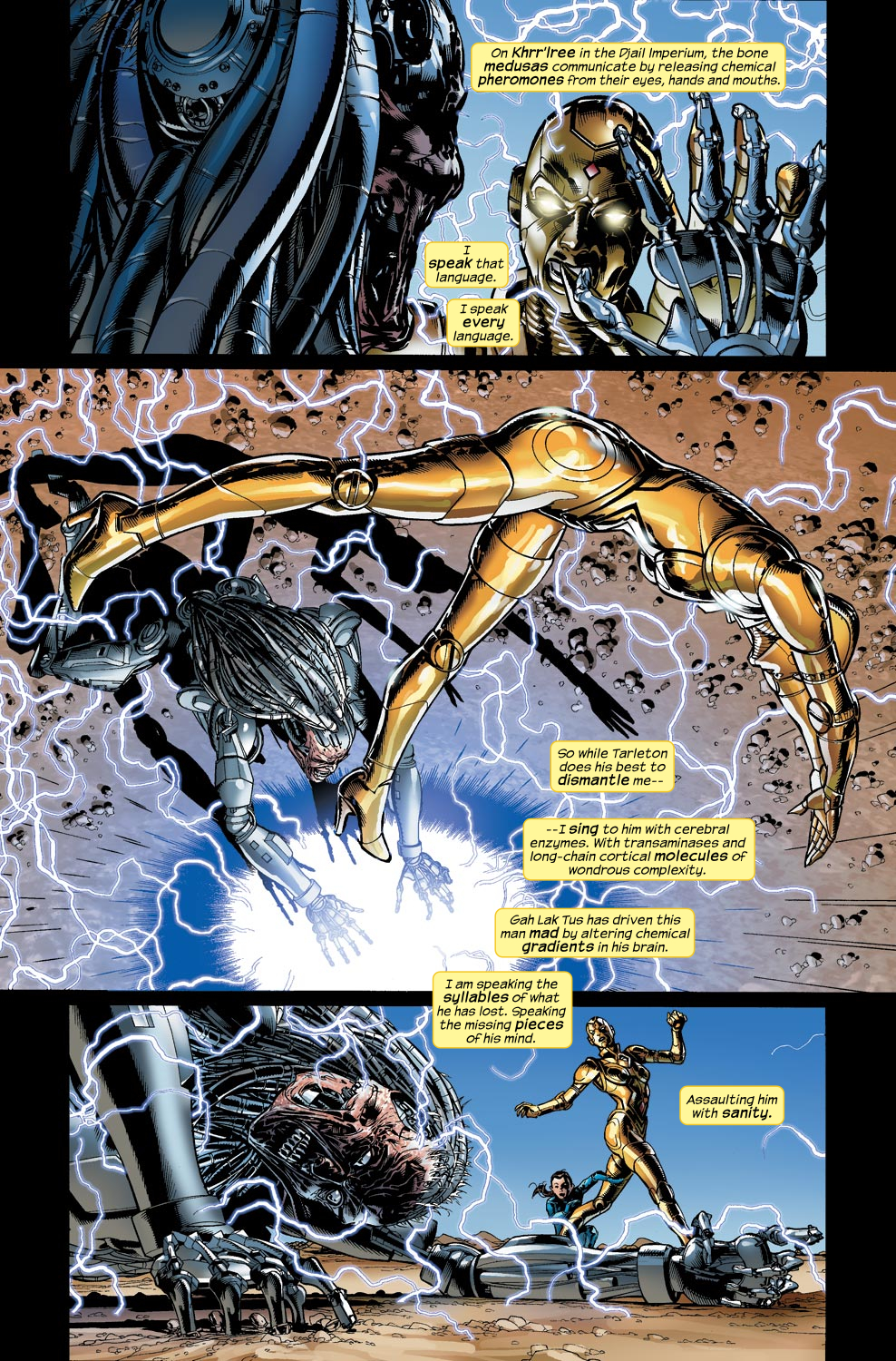 Read online Ultimate Vision comic -  Issue #4 - 14