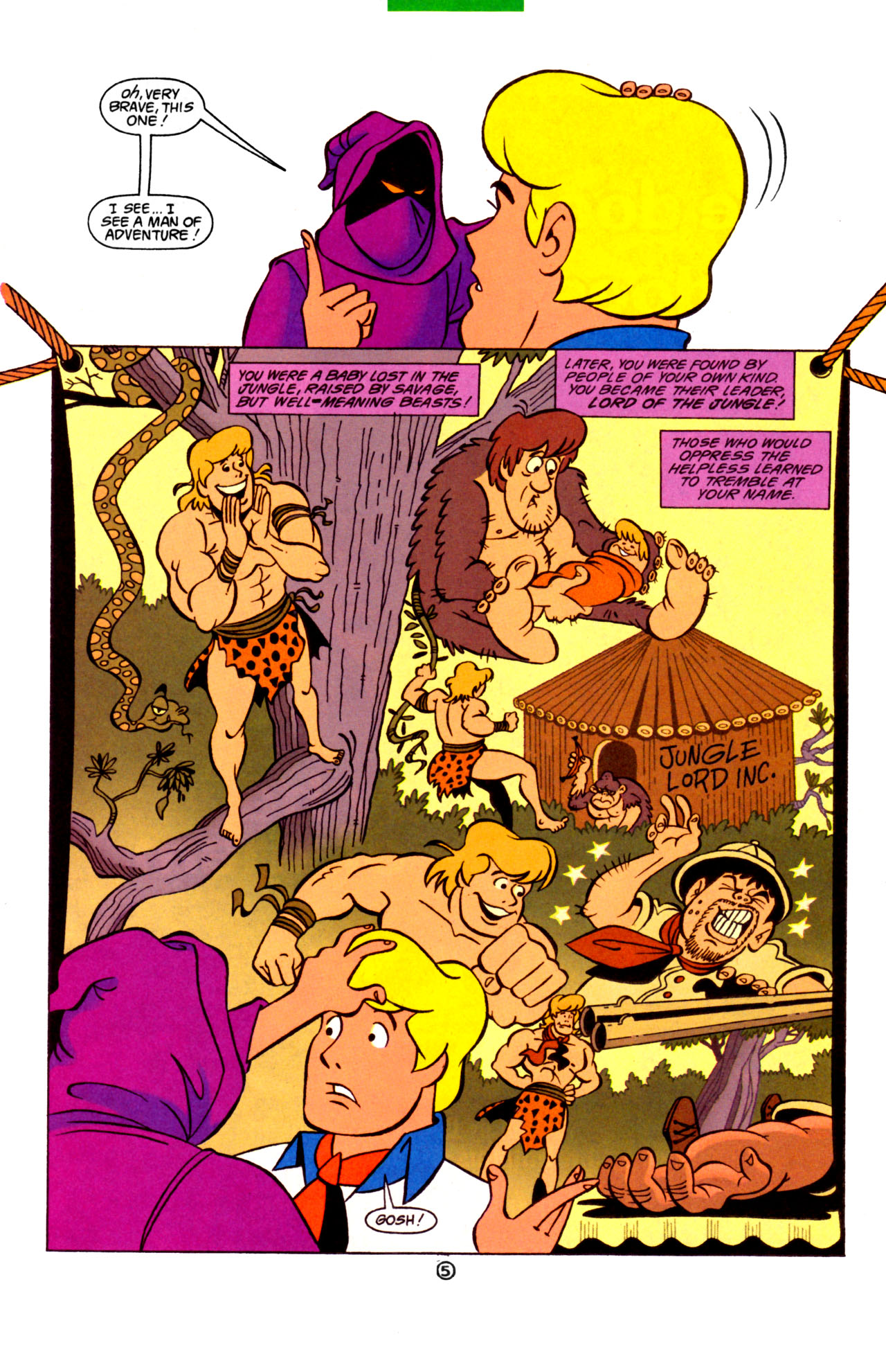 Read online Scooby-Doo (1997) comic -  Issue #7 - 20