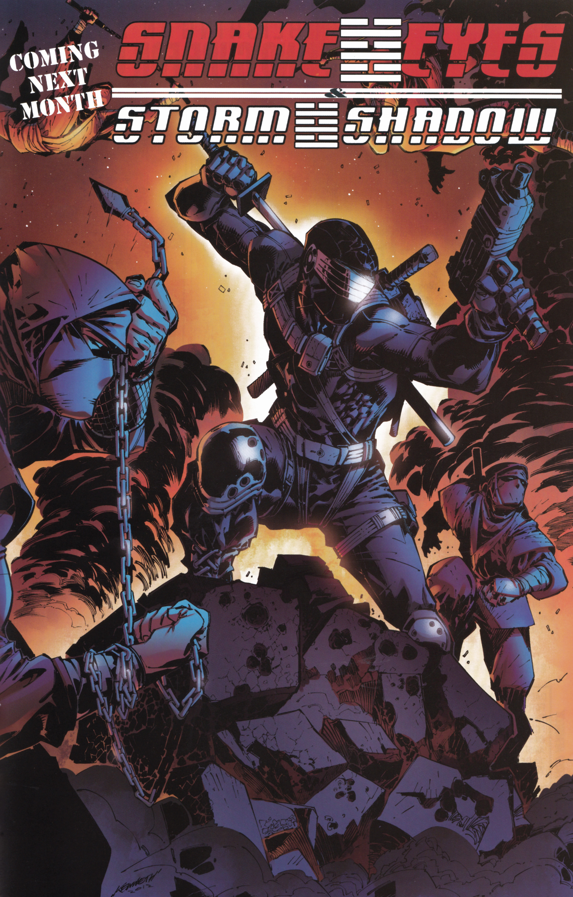 Read online Snake Eyes and Storm Shadow comic -  Issue #16 - 25