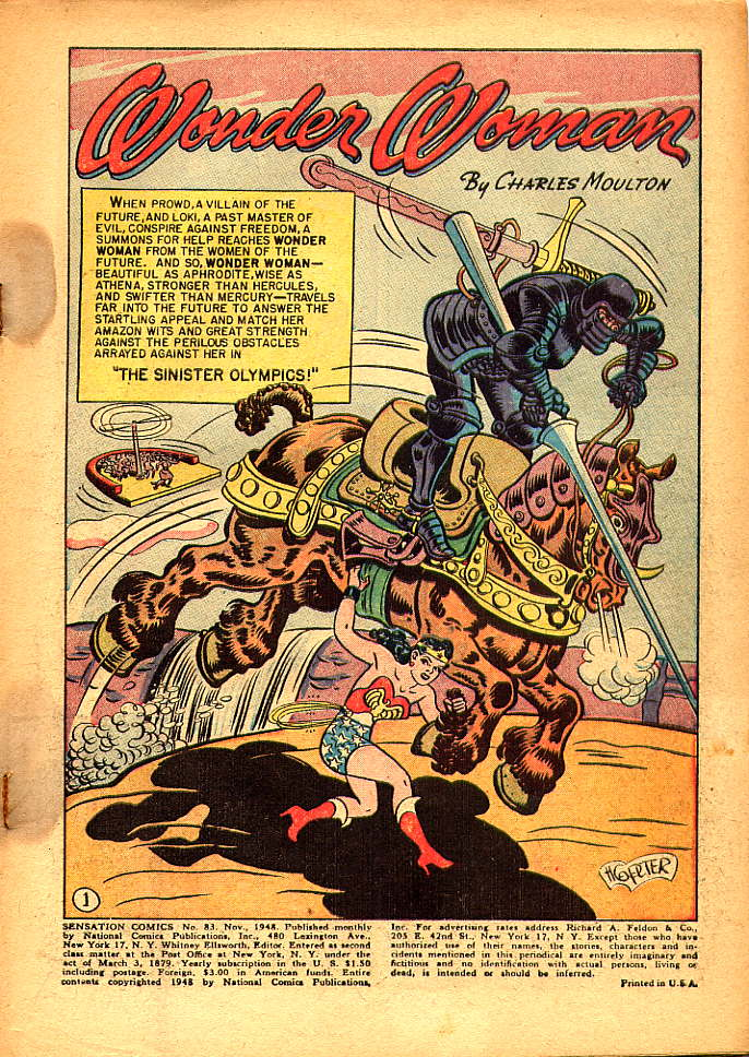 Read online Sensation (Mystery) Comics comic -  Issue #83 - 3