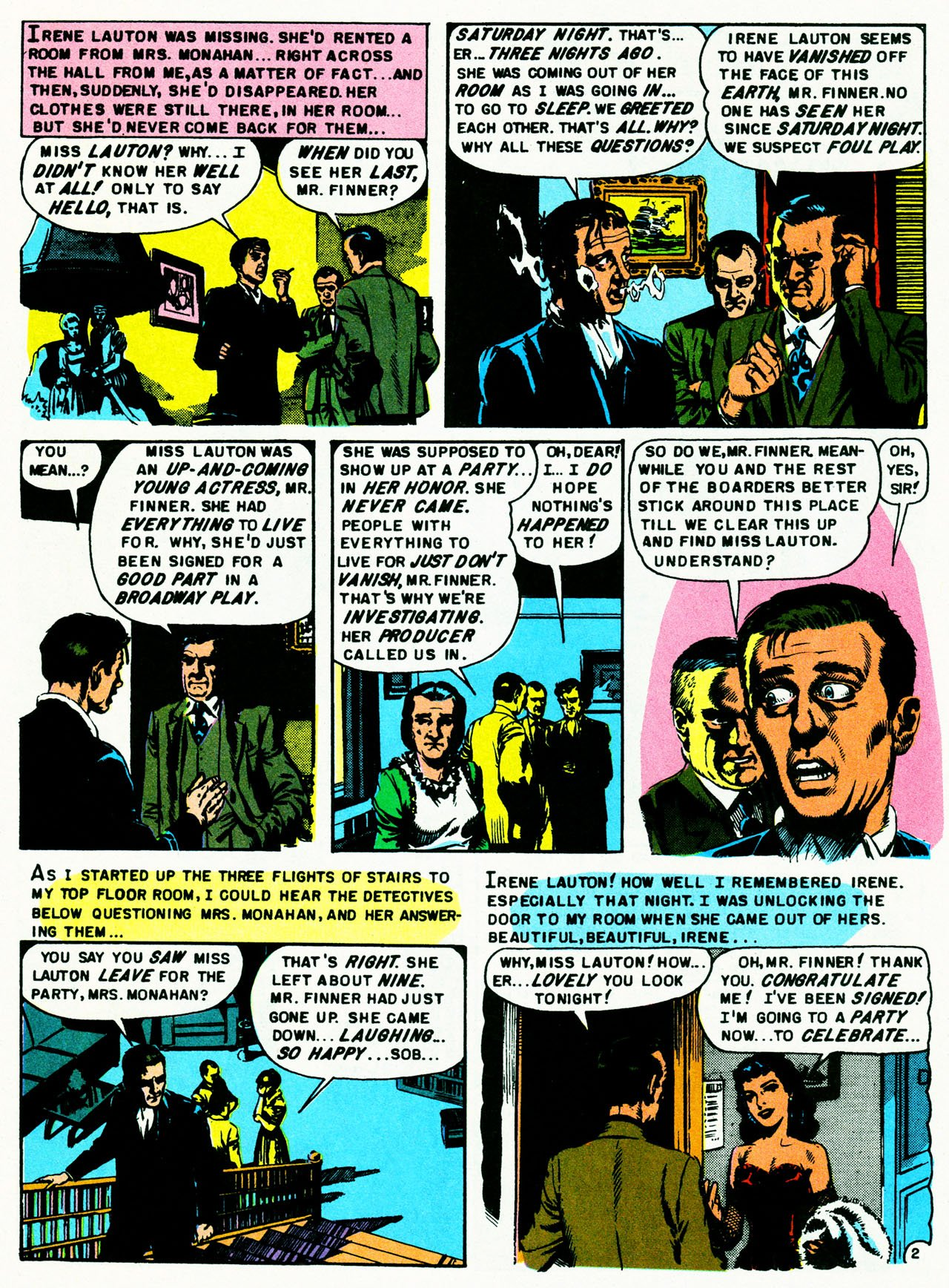 Read online Shock SuspenStories comic -  Issue #8 - 28