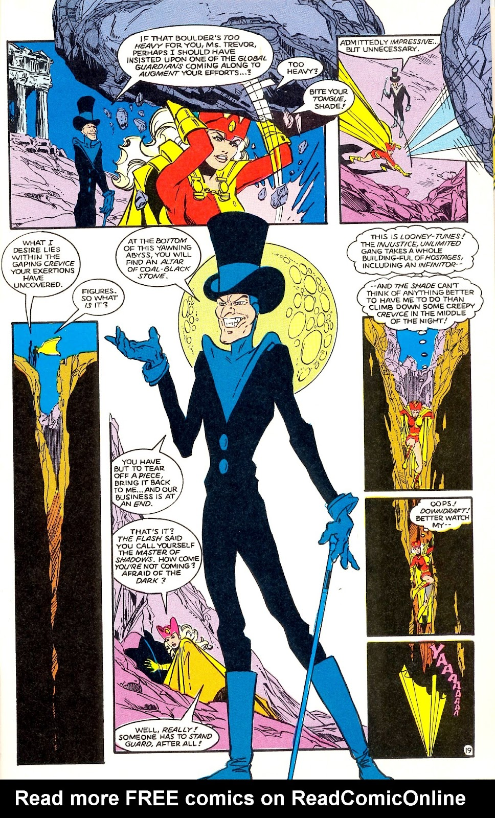 Infinity Inc. (1984) issue 35 - Page 21