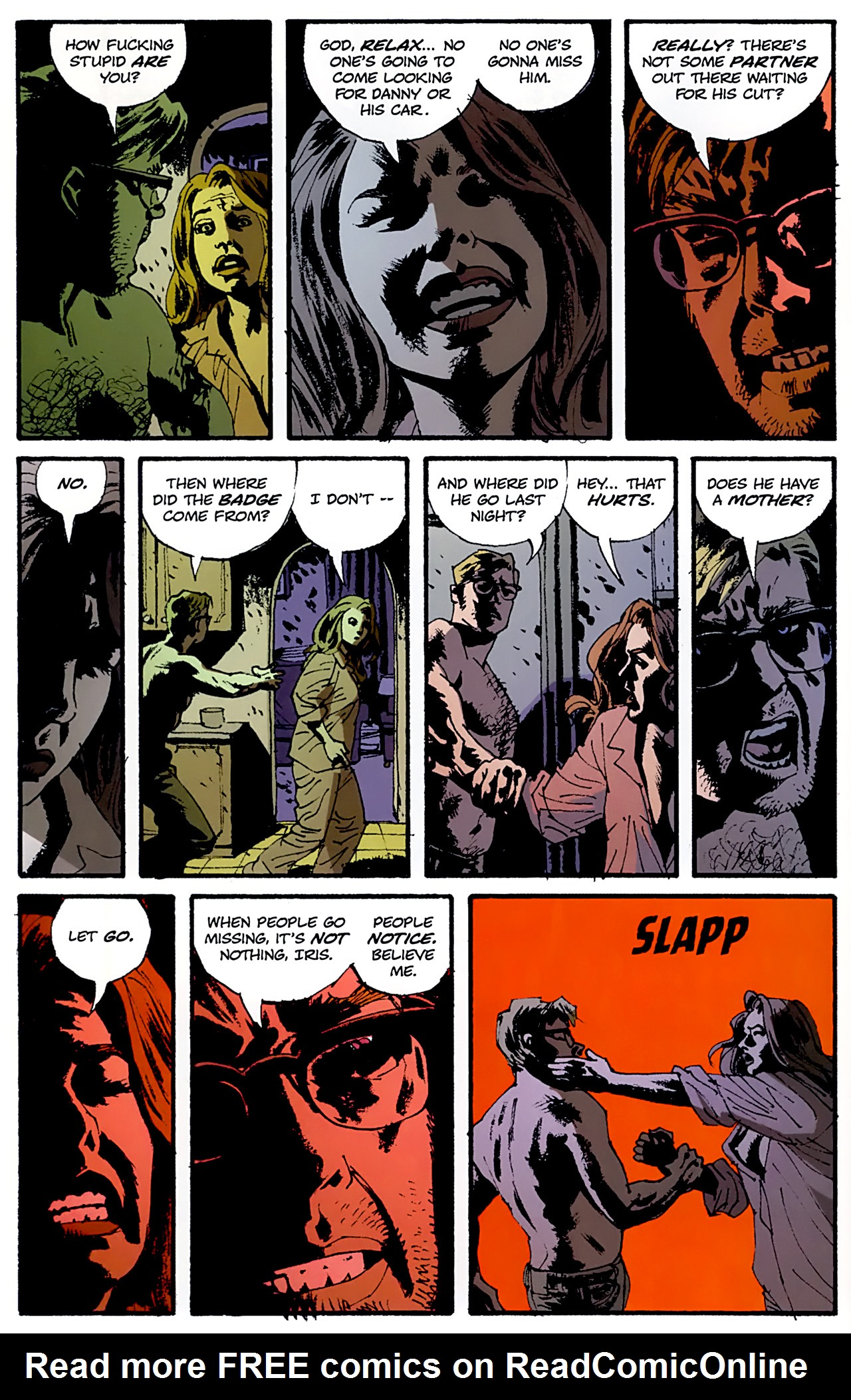 Read online Criminal (2008) comic -  Issue #6 - 8