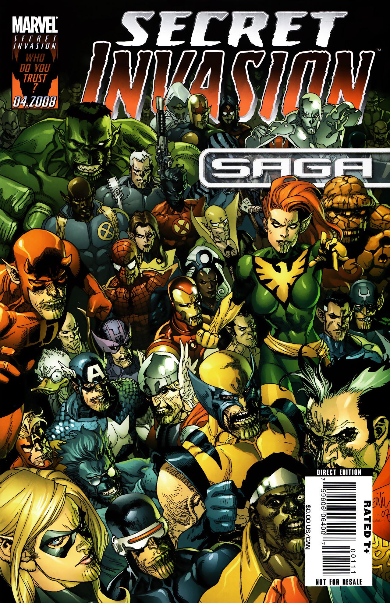 Read online Secret Invasion Saga comic -  Issue # Full - 1