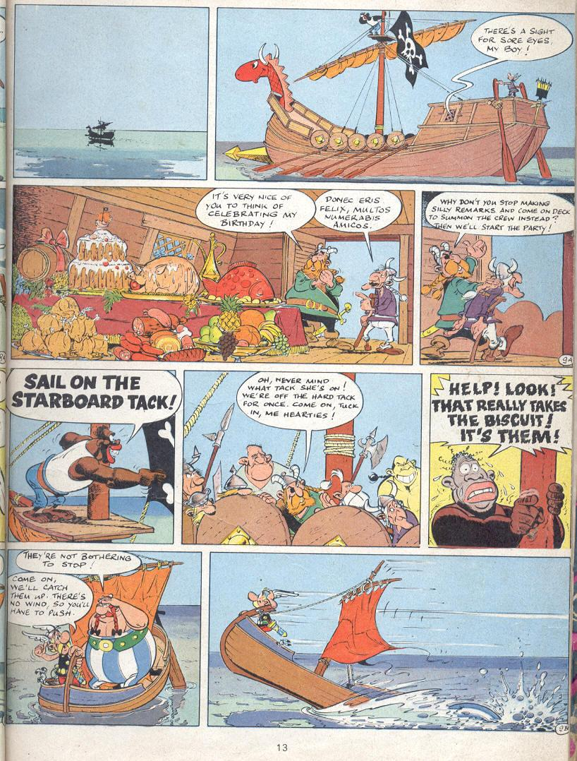 Read online Asterix comic -  Issue #22 - 10