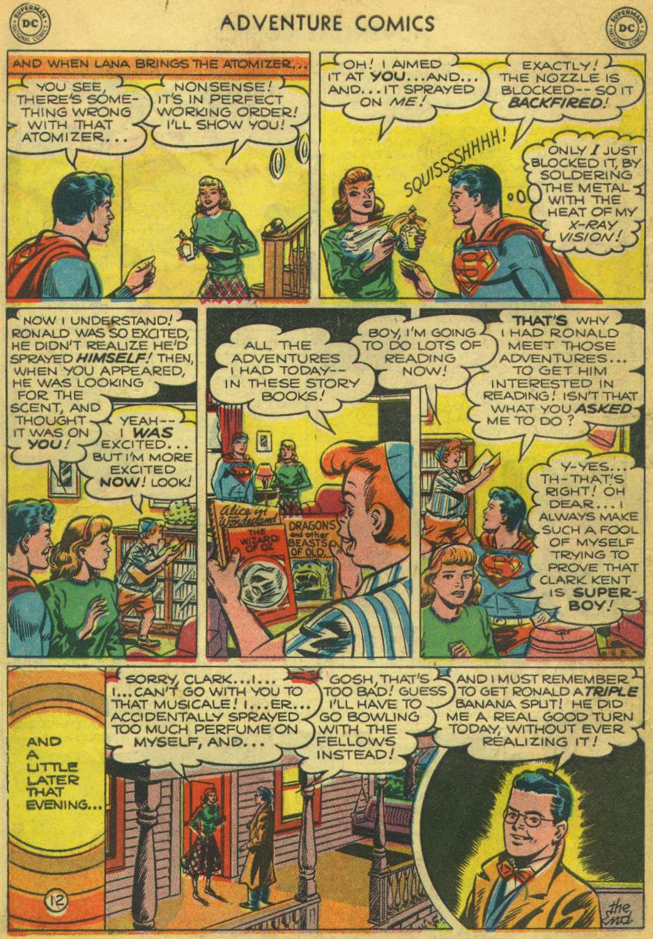 Read online Adventure Comics (1938) comic -  Issue #168 - 14