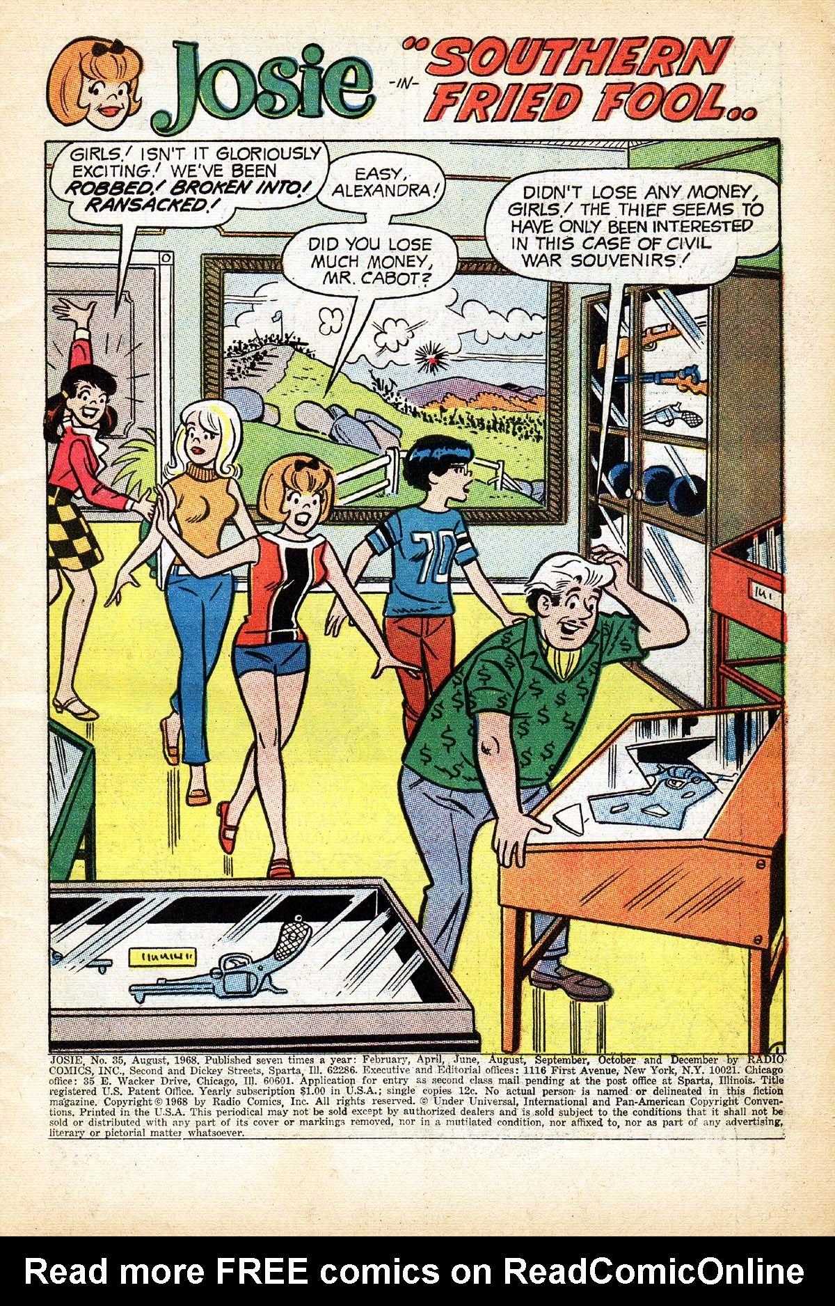 Read online She's Josie comic -  Issue #35 - 3