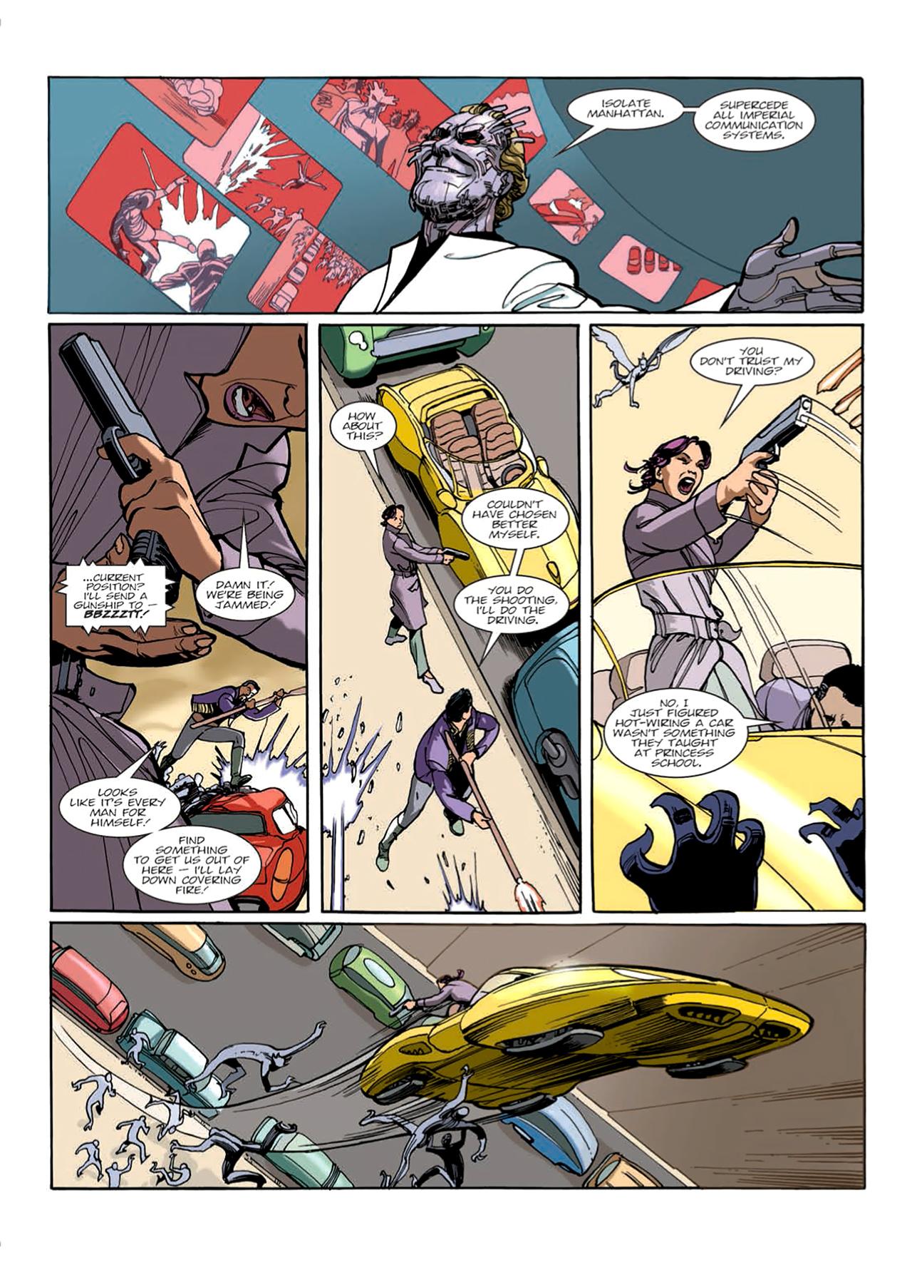 Read online Nikolai Dante comic -  Issue # TPB 9 - 50