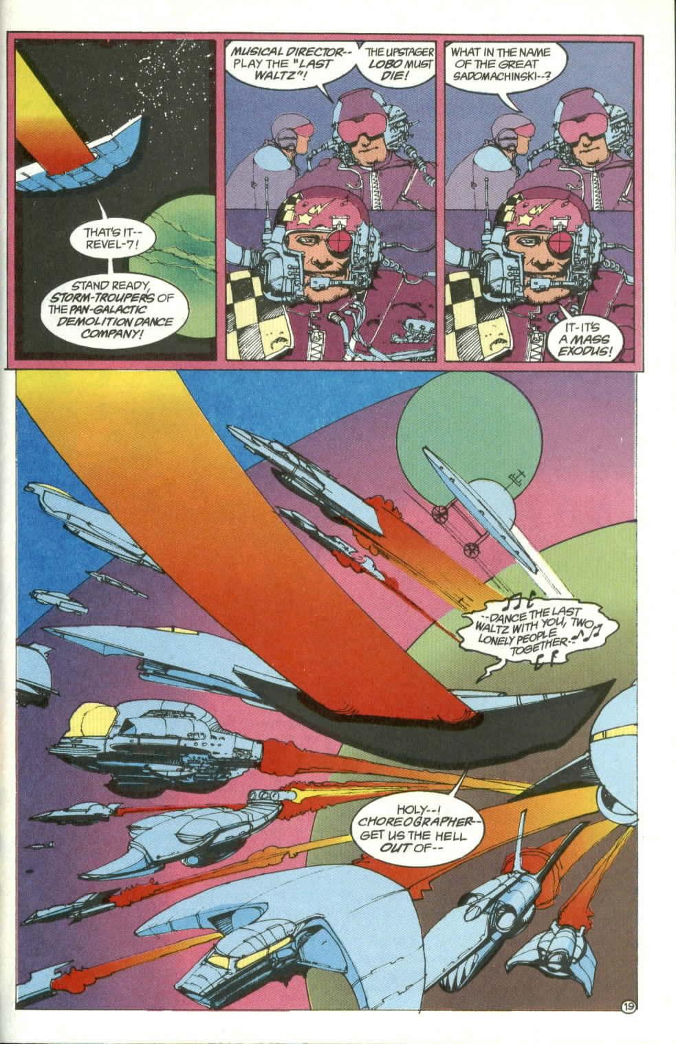 Read online Lobo (1990) comic -  Issue #4 - 19