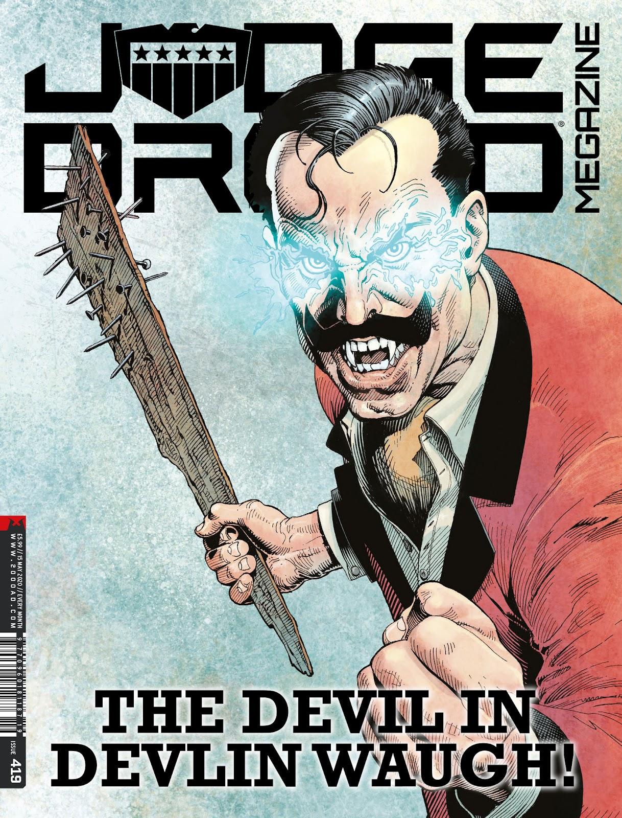 Judge Dredd Megazine (Vol. 5) issue 419 - Page 1