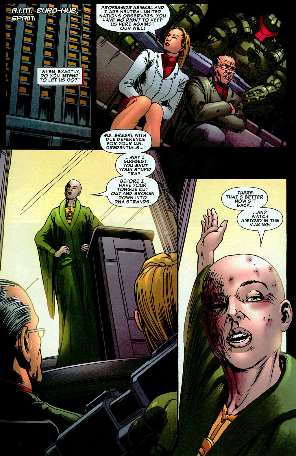 Read online Amazing Fantasy (2004) comic -  Issue #20 - 11