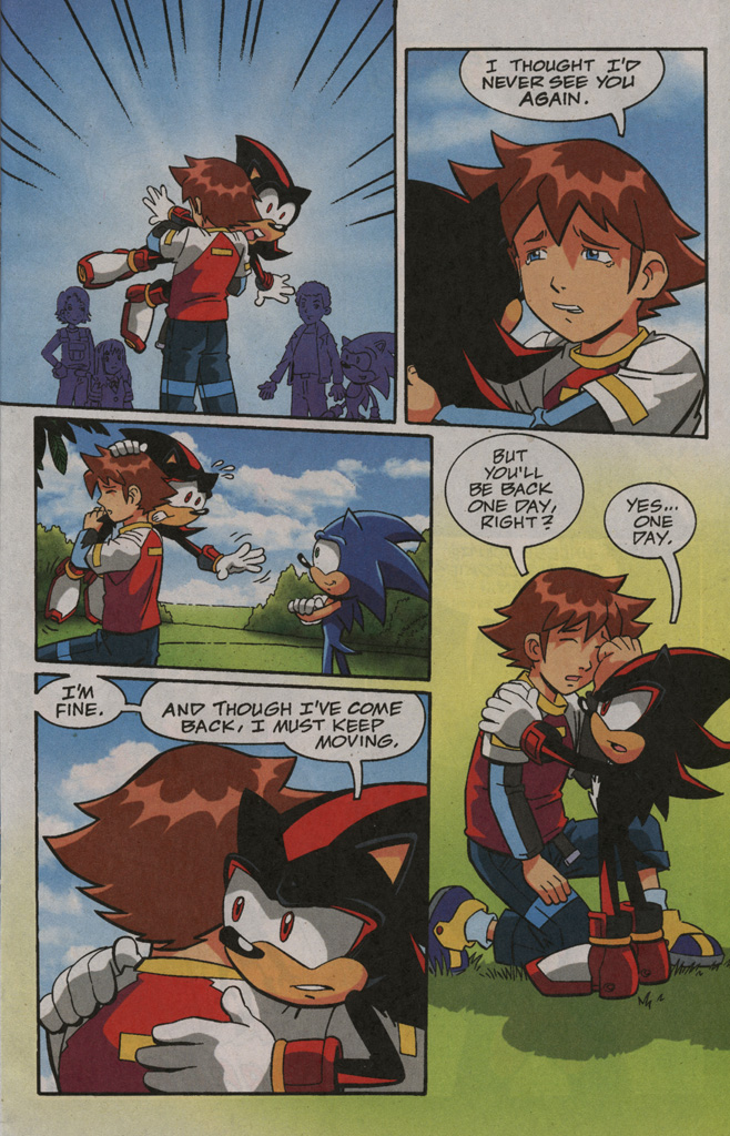 Read online Sonic X comic -  Issue #40 - 11