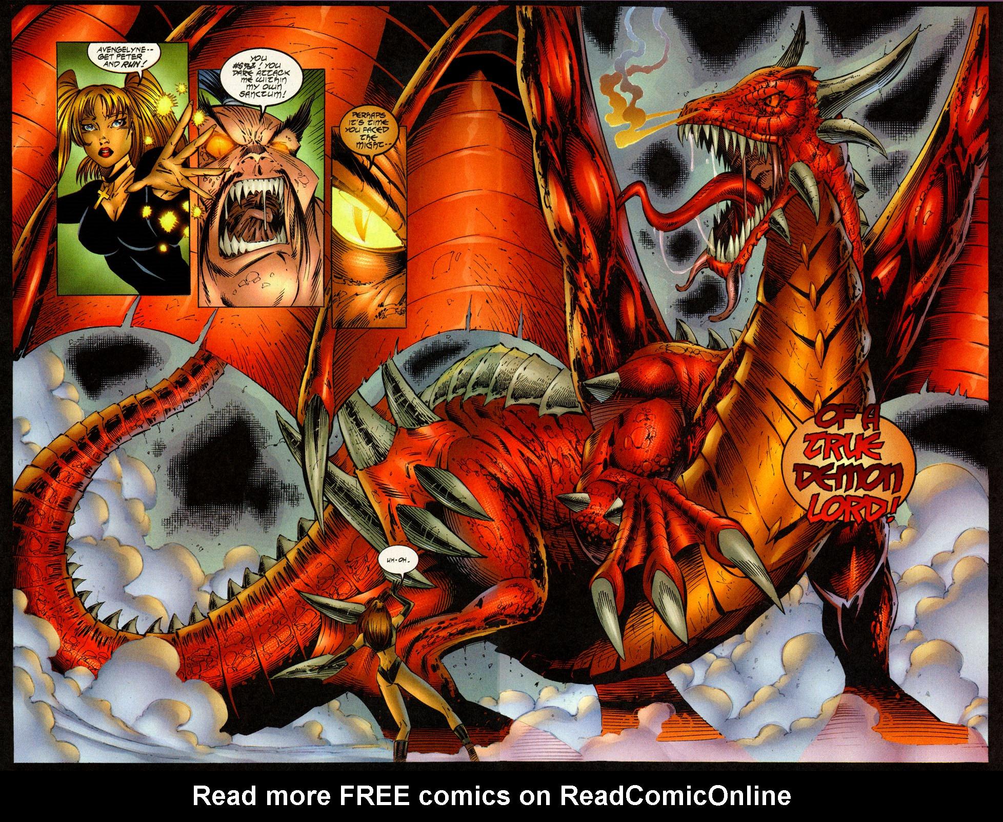 Read online Avengelyne (1996) comic -  Issue #7 - 14