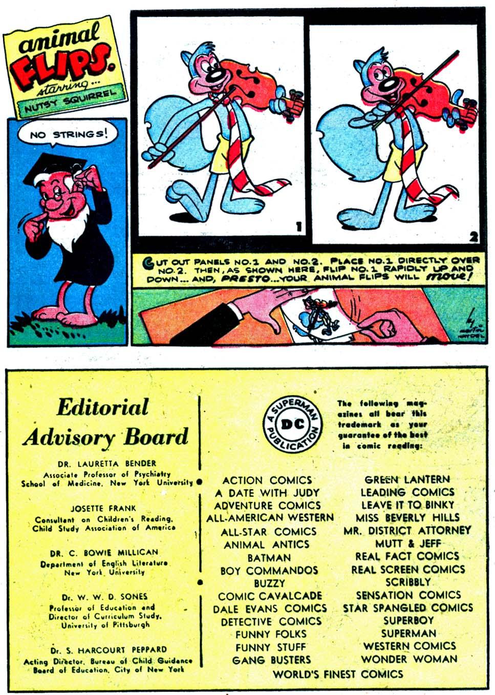 Comic Cavalcade issue 32 - Page 43