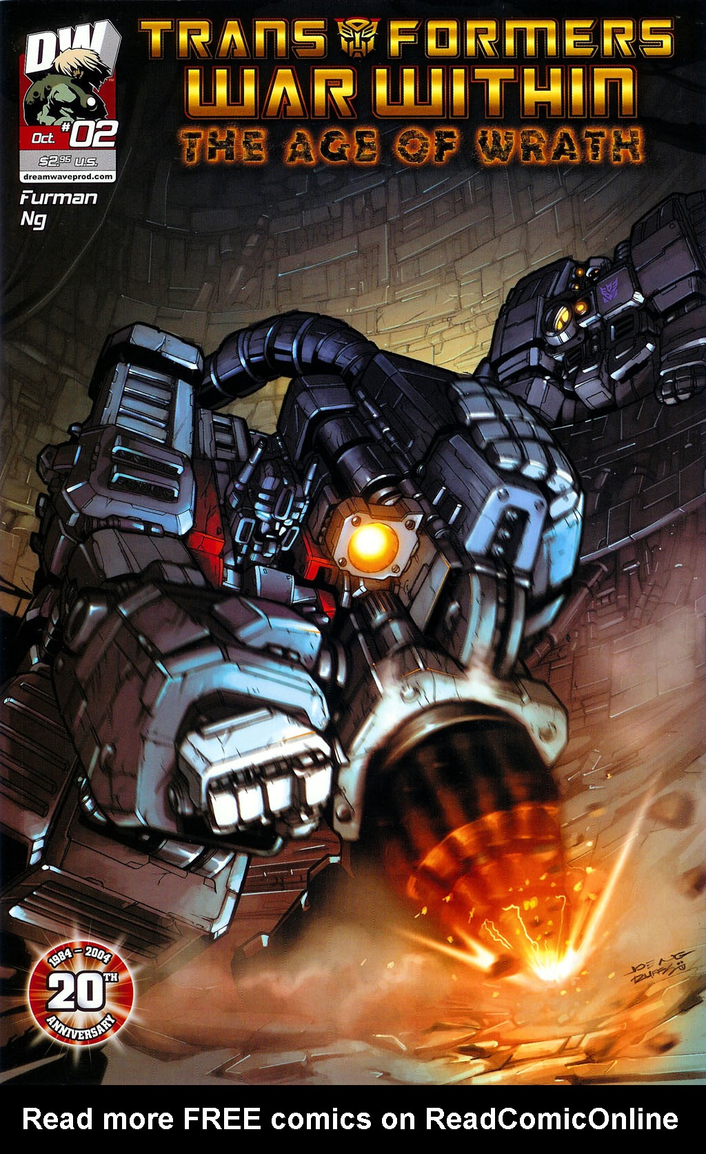 """Read online Transformers War Within: """"The Age of Wrath"""" comic -  Issue #2 - 1"""