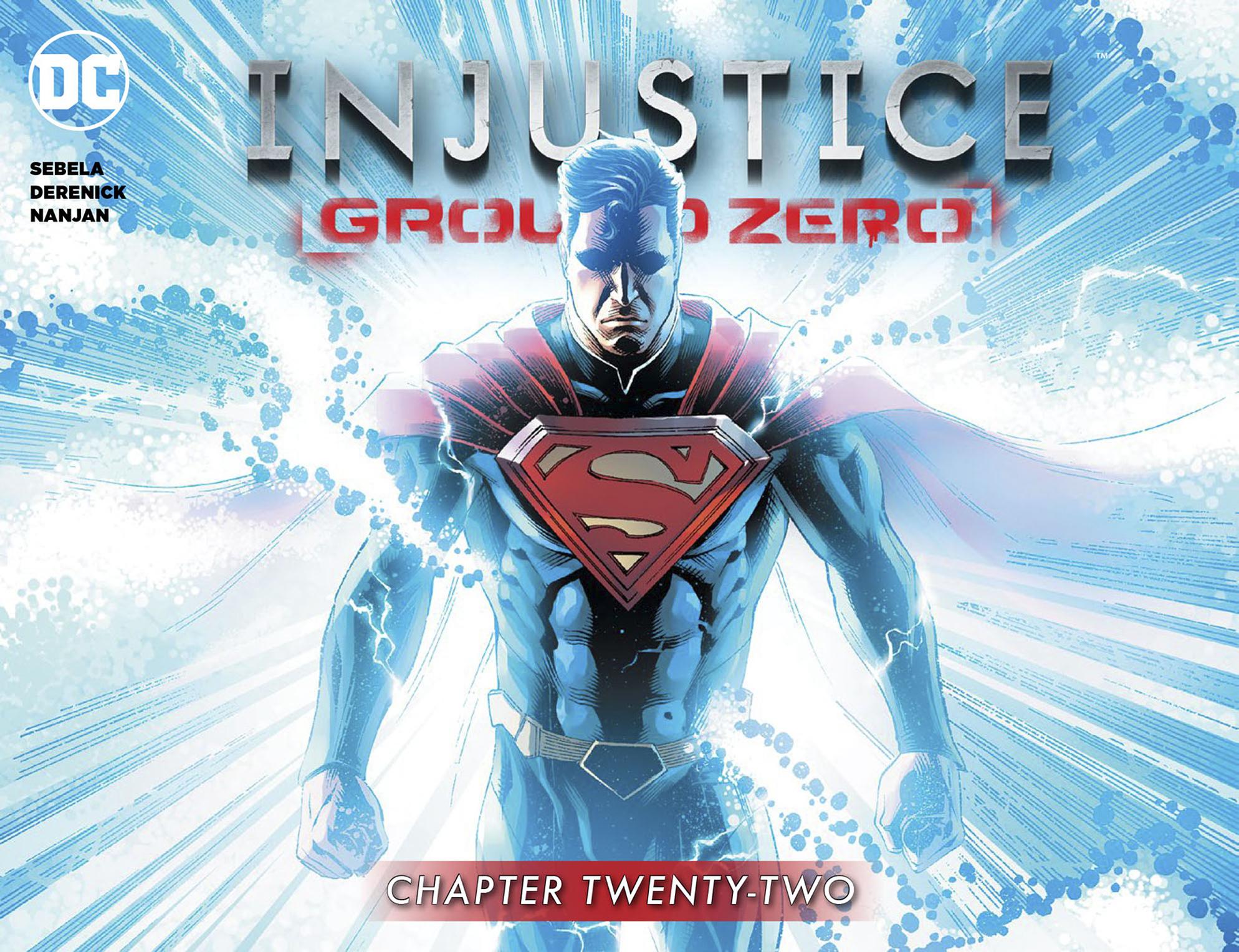 Read online Injustice: Ground Zero comic -  Issue #22 - 1