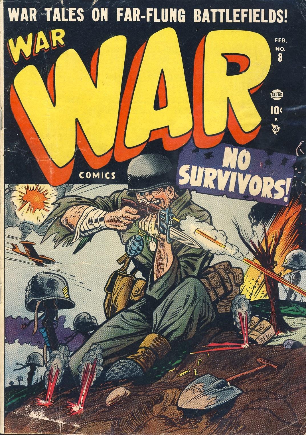 War Comics 8 Page 1
