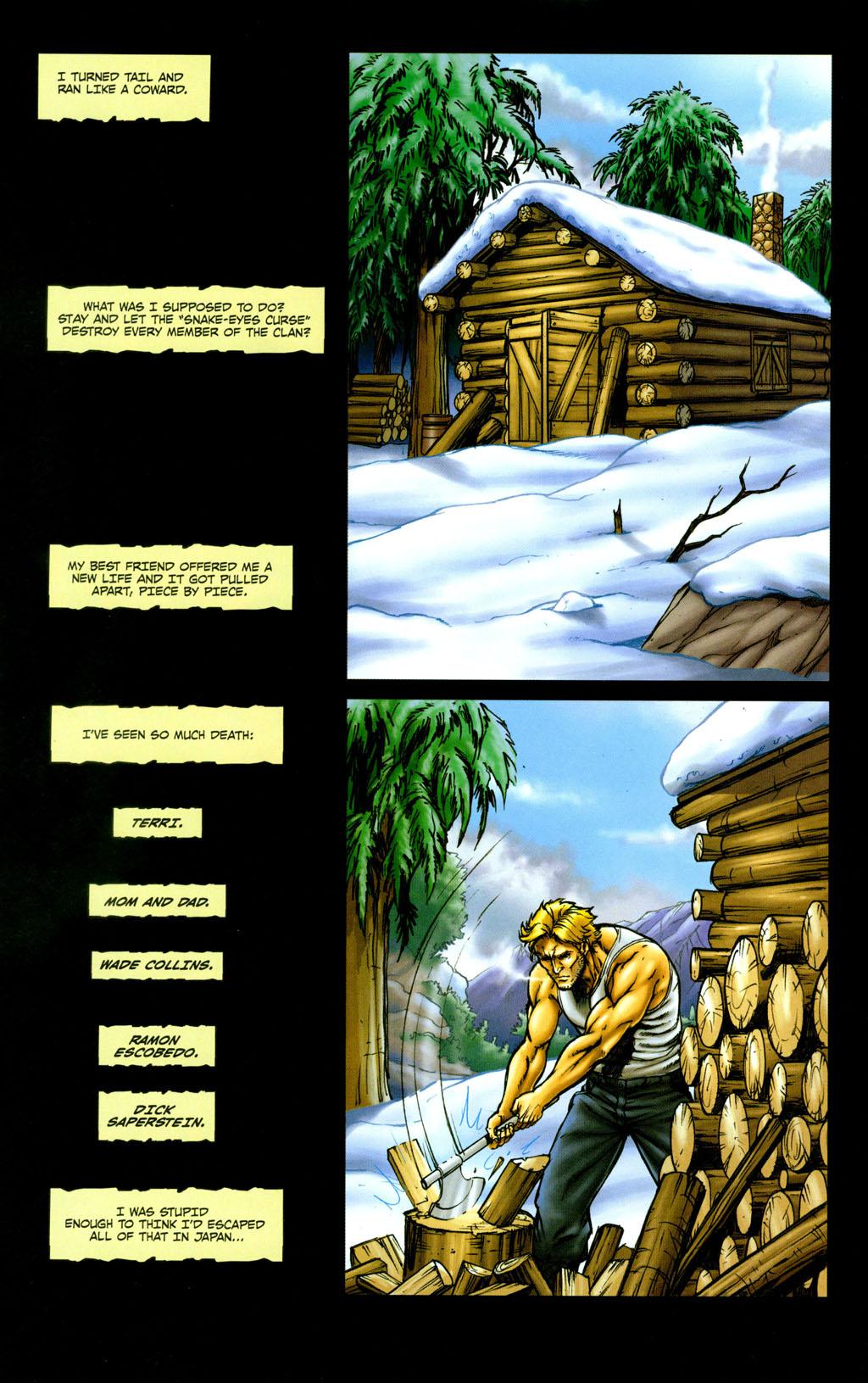 Read online Snake Eyes: Declassified comic -  Issue #5 - 16