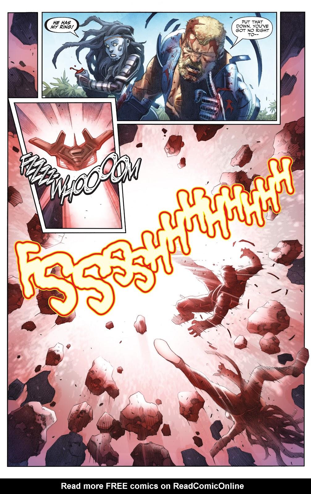 Read online X-O Manowar (2017) comic -  Issue #25 - 16