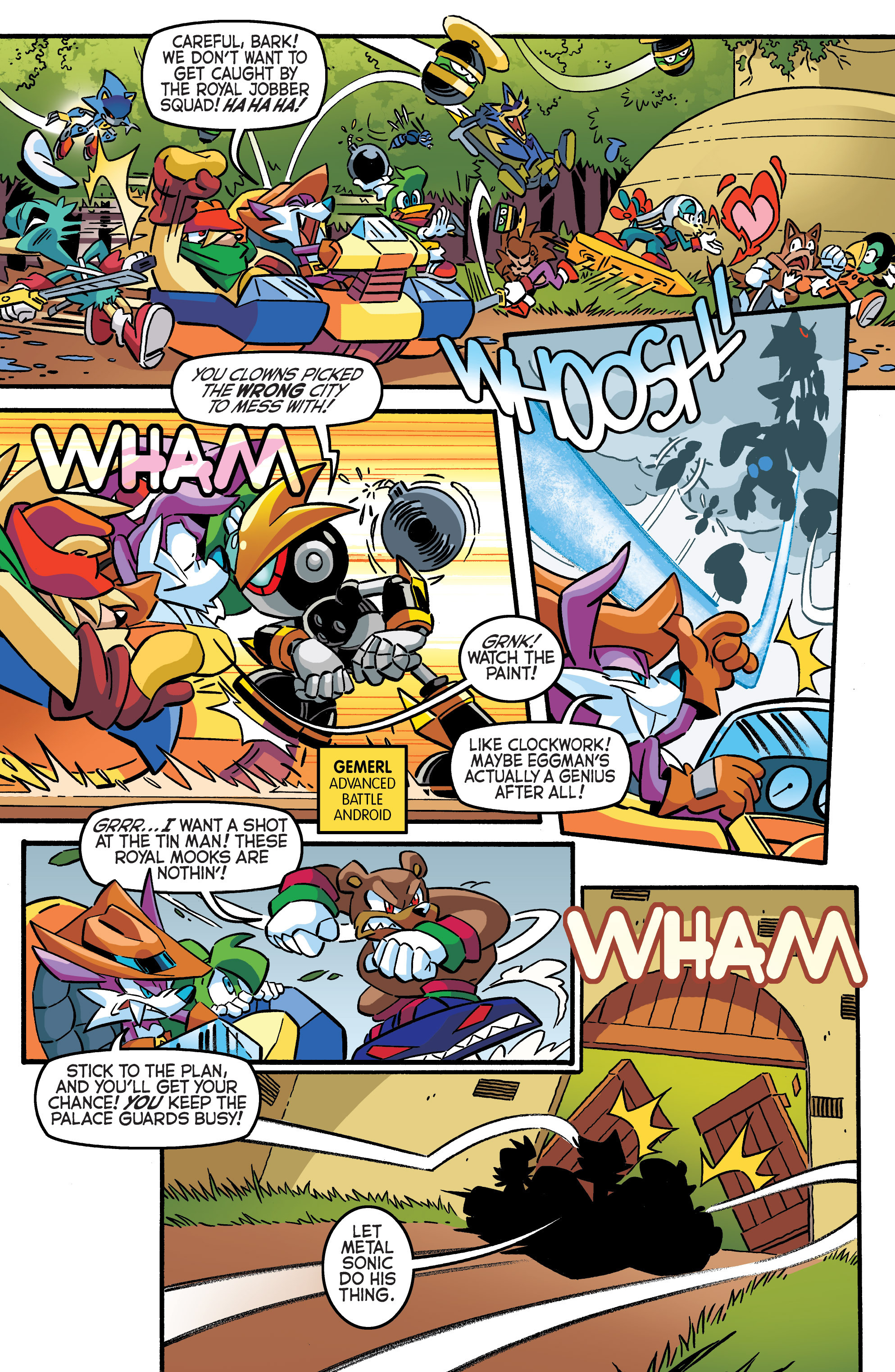 Read online Sonic The Hedgehog comic -  Issue #284 - 9