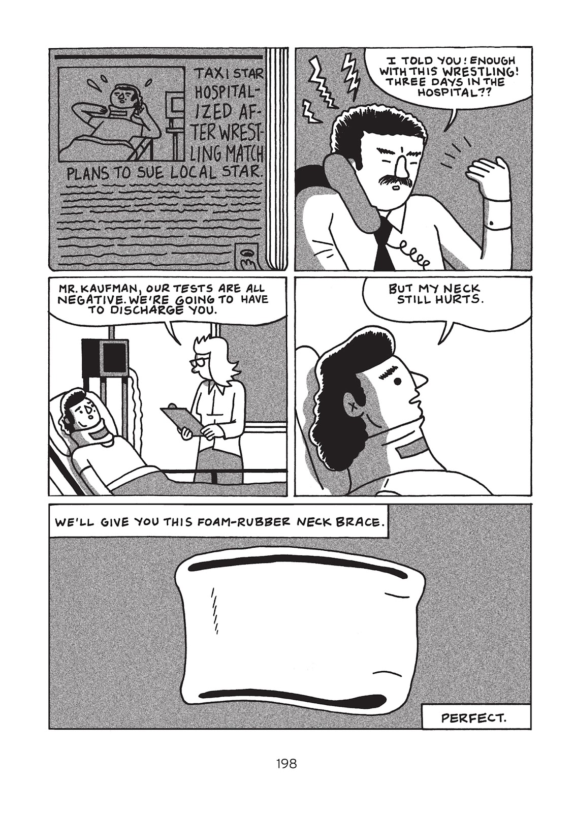 Read online Is This Guy For Real?: The Unbelievable Andy Kaufman comic -  Issue # TPB (Part 3) - 3