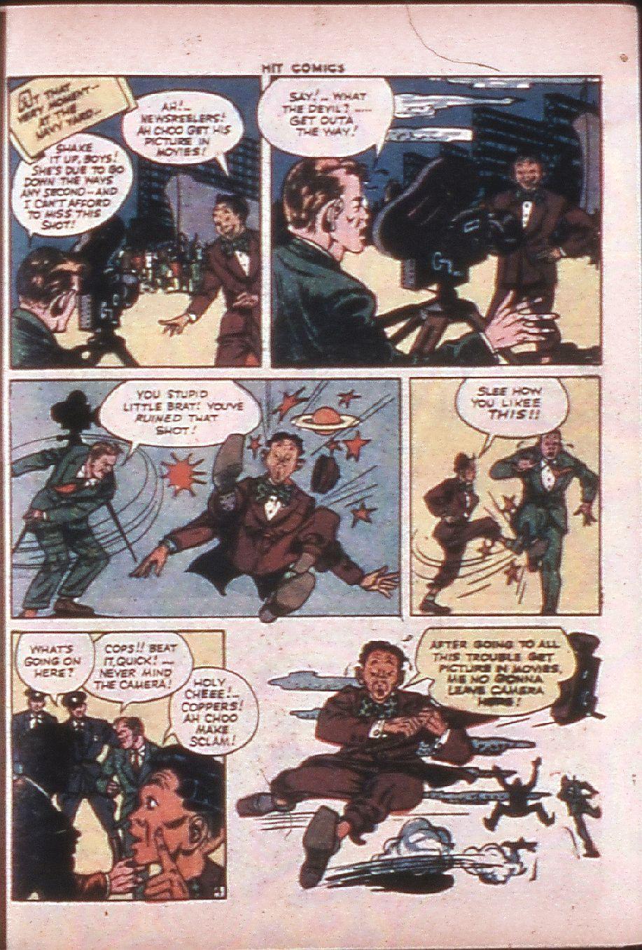 Read online Hit Comics comic -  Issue #33 - 40
