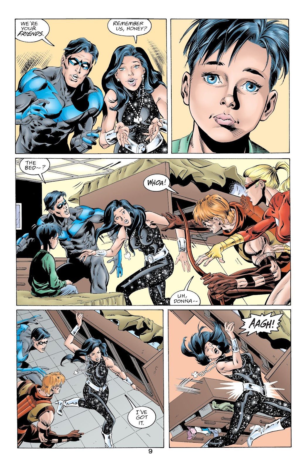 The Titans (1999) 41 Page 9