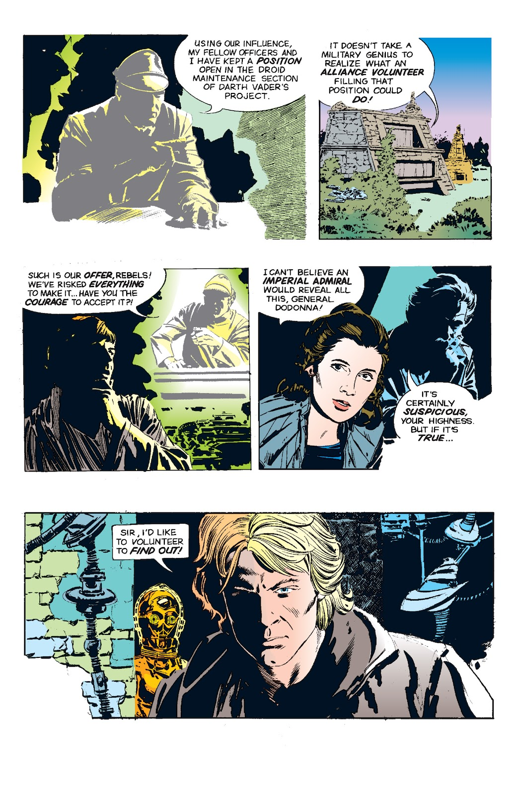Read online Star Wars Legends: The Newspaper Strips - Epic Collection comic -  Issue # TPB (Part 5) - 36
